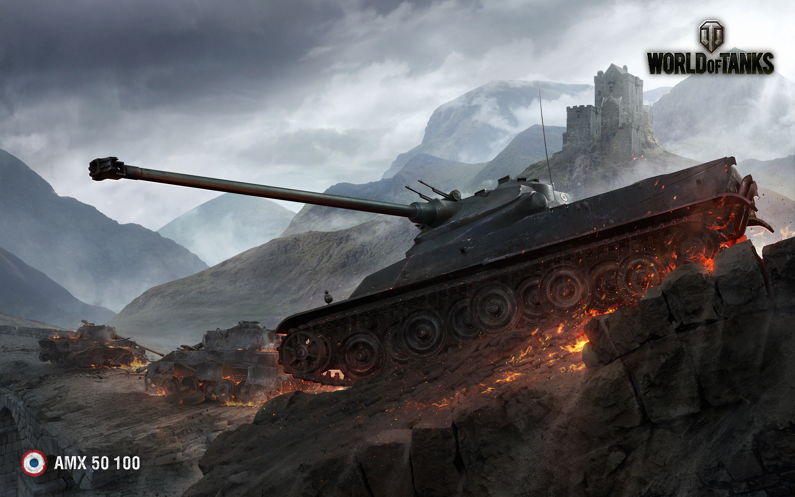 HD Wallpapers AMX 50 100 World of Tanks