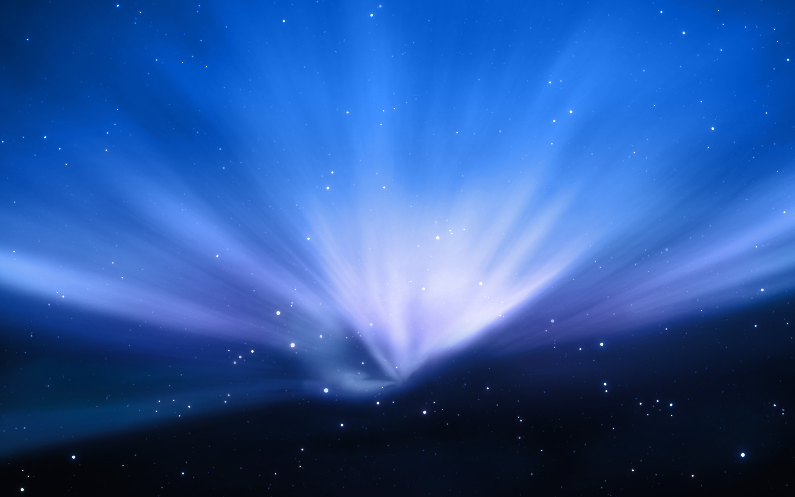 HD Wallpapers Apple Aurora Blue