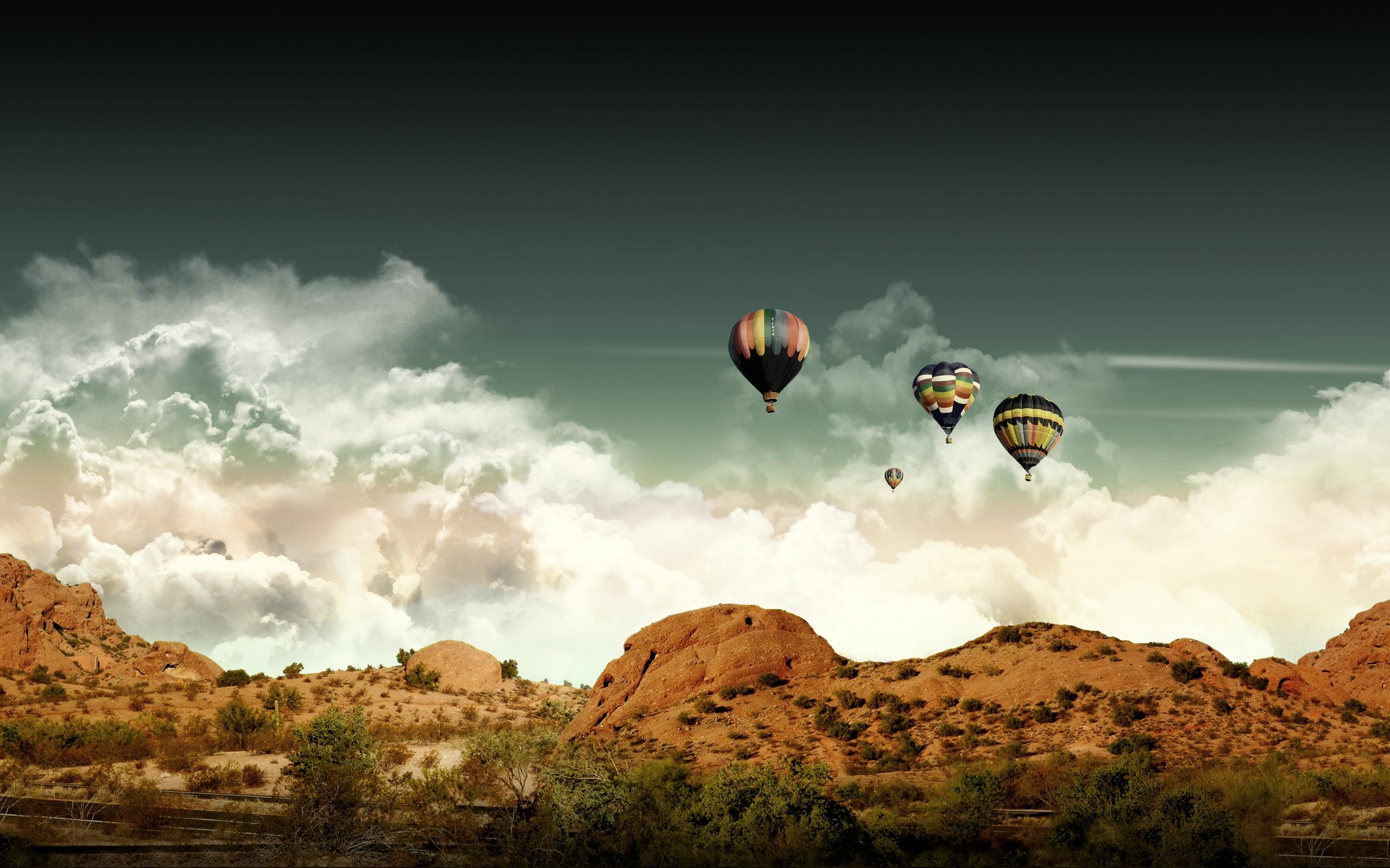 HD Wallpapers Ballon View