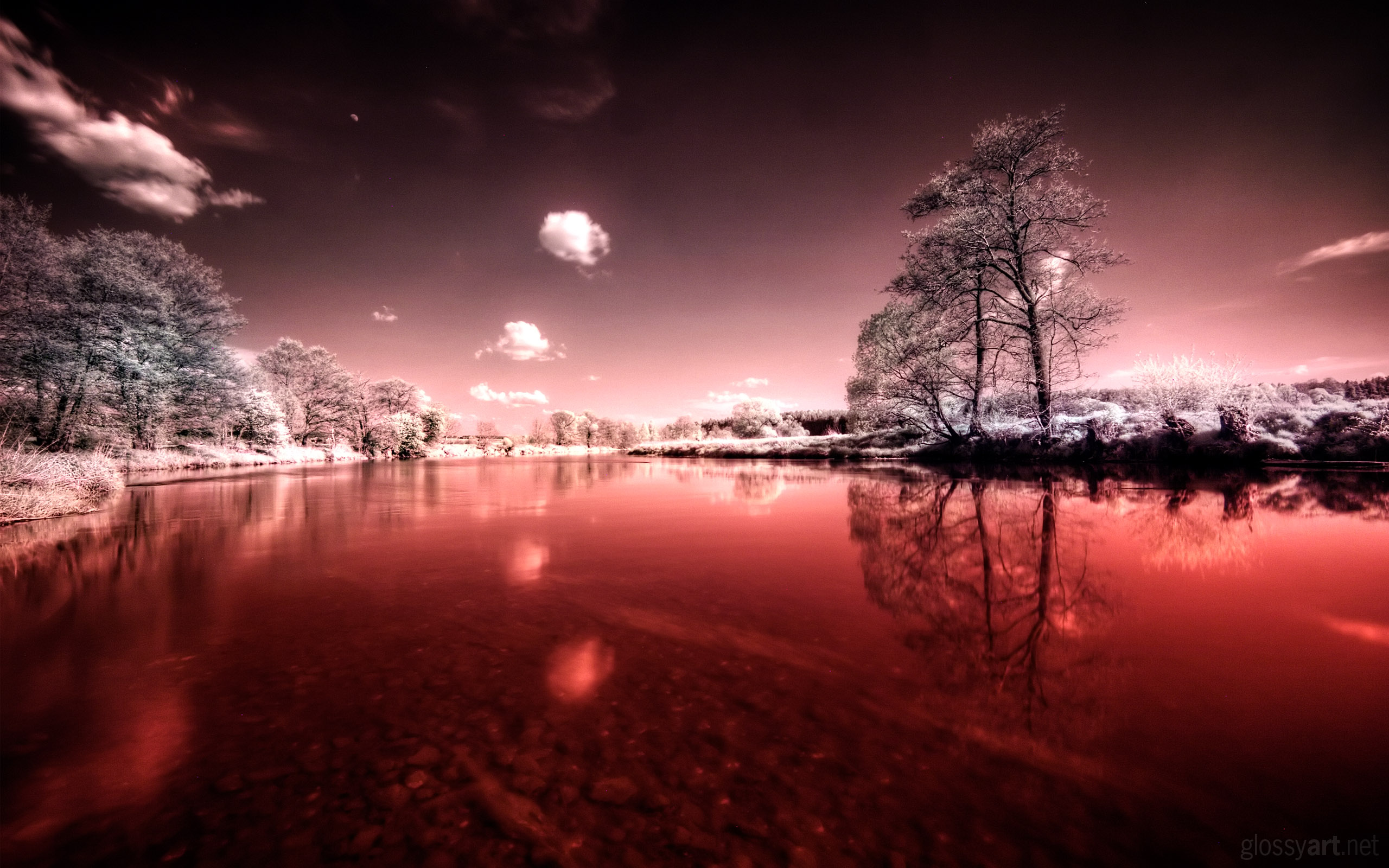 HD Wallpapers Bloody River