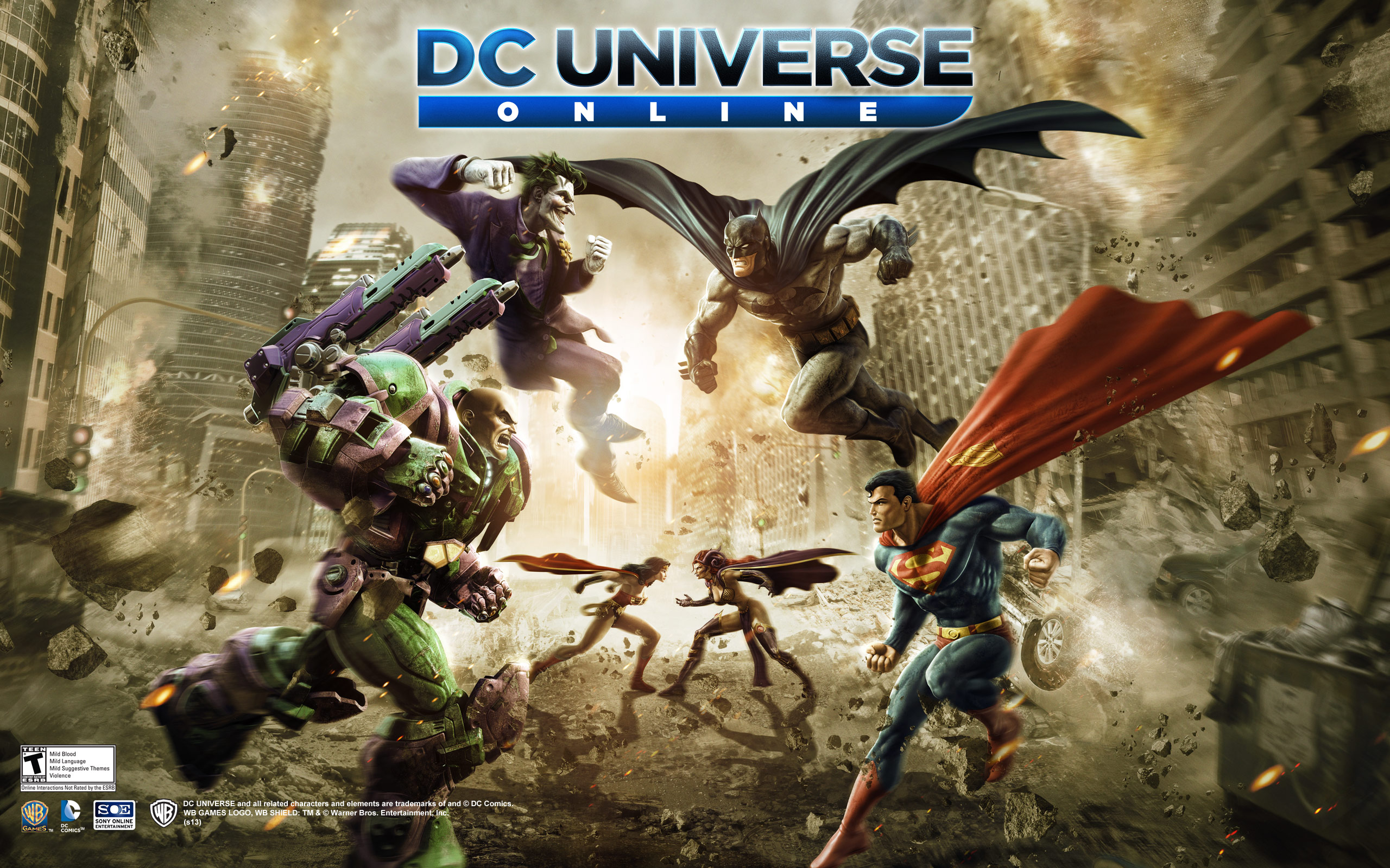 HD Wallpapers DC Universe Online