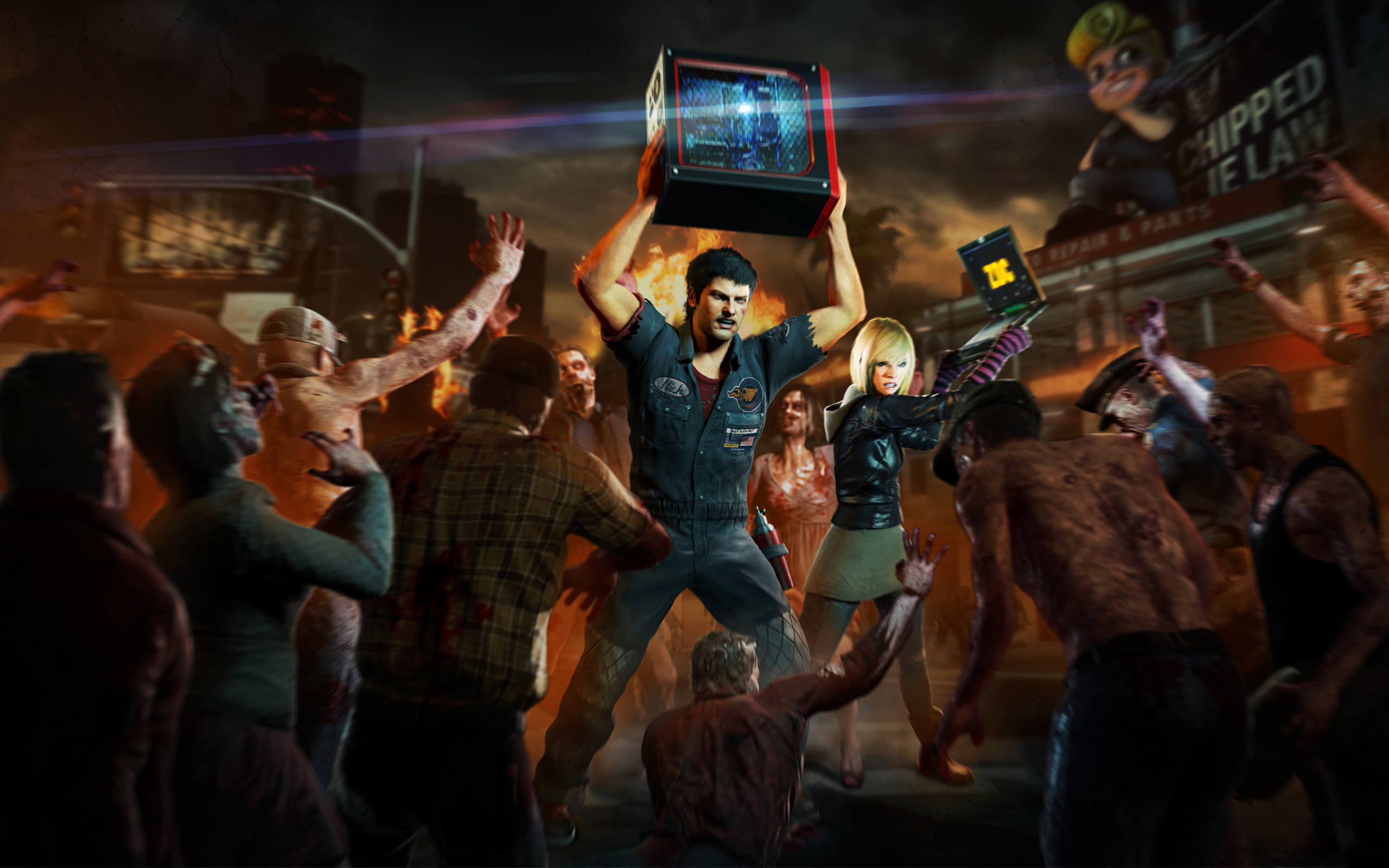HD Wallpapers Dead Rising 3 PC Game