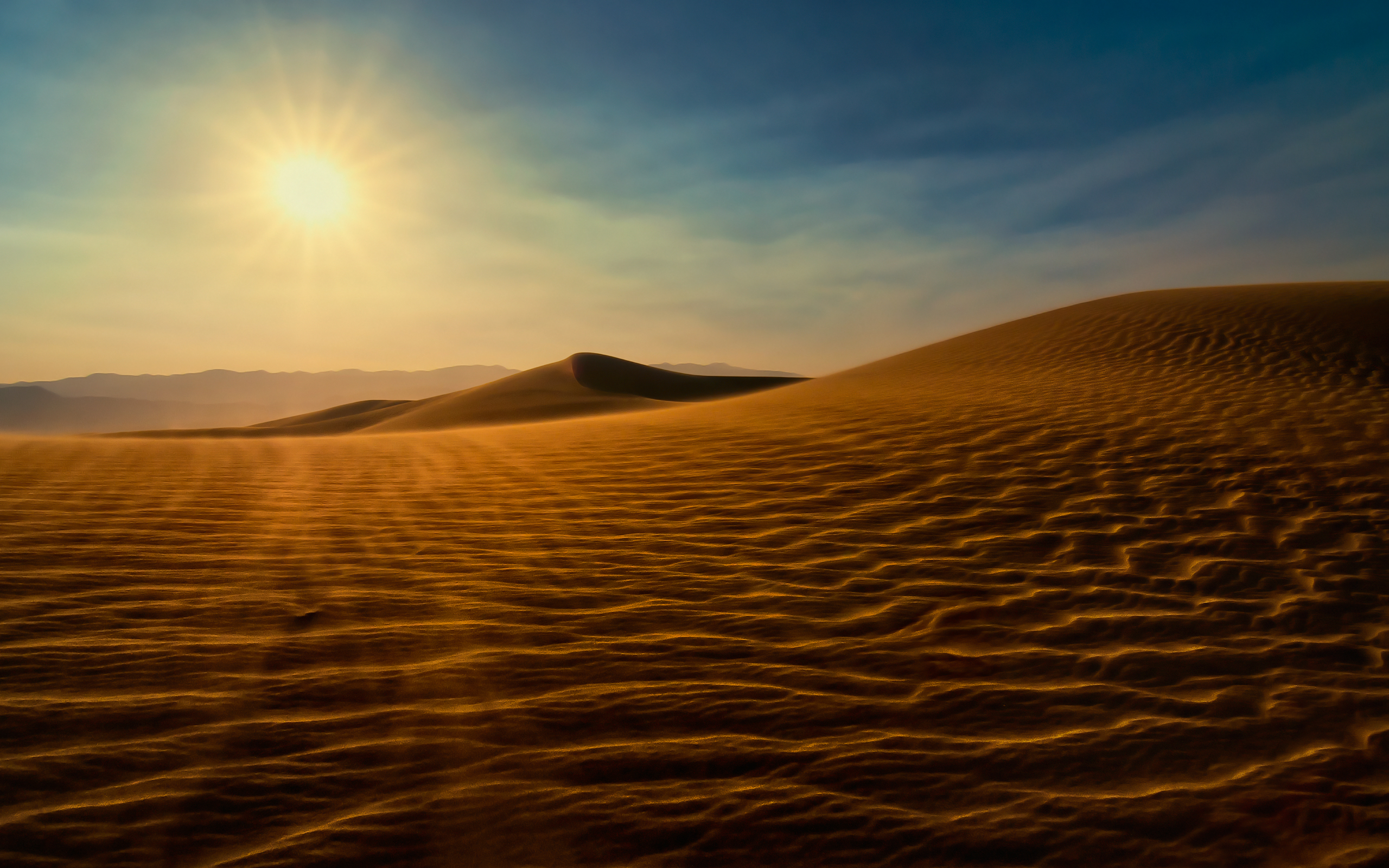 HD Wallpapers Death Valley Sunset Dunes