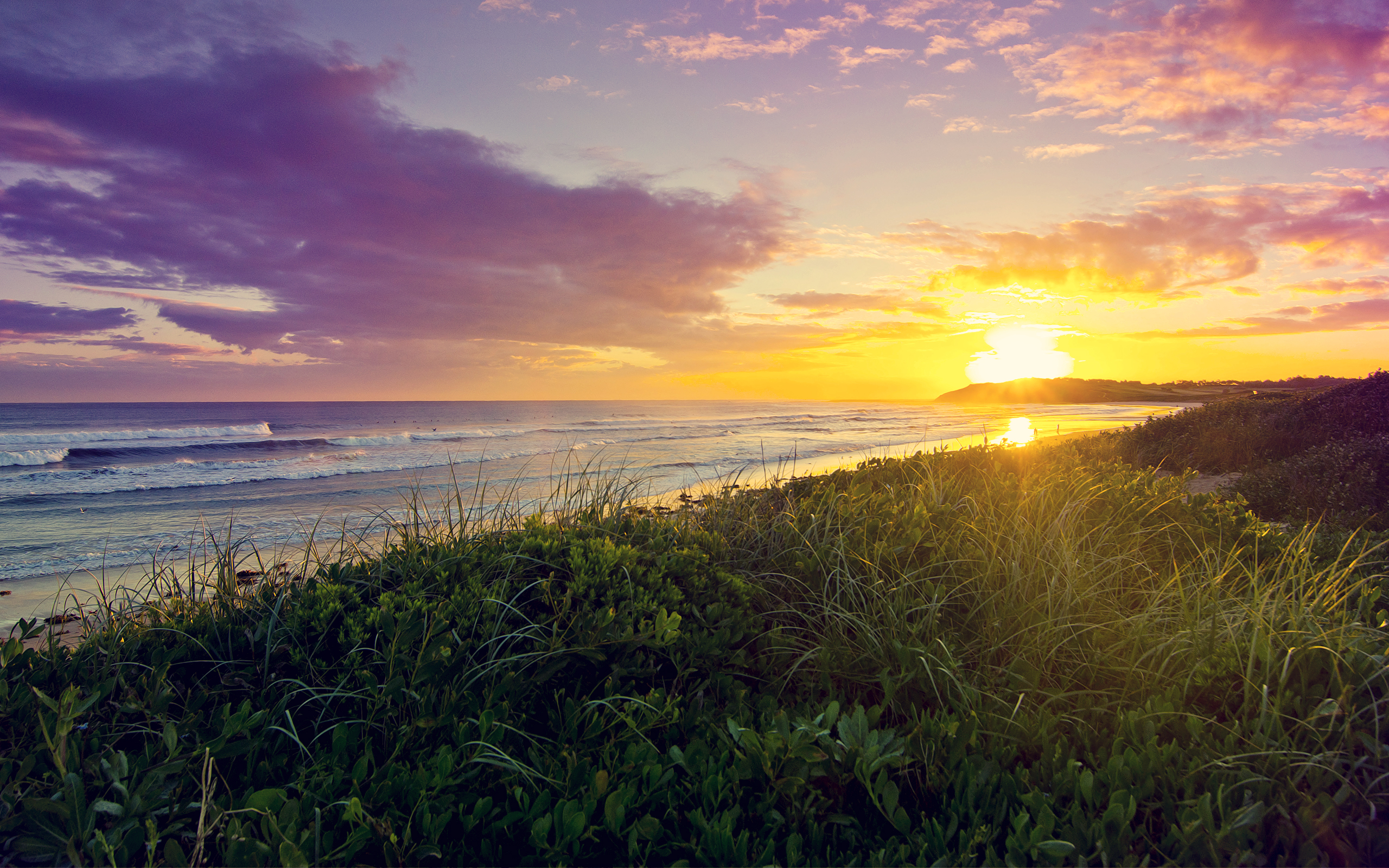 HD Wallpapers Dee Why Beach Sunrise