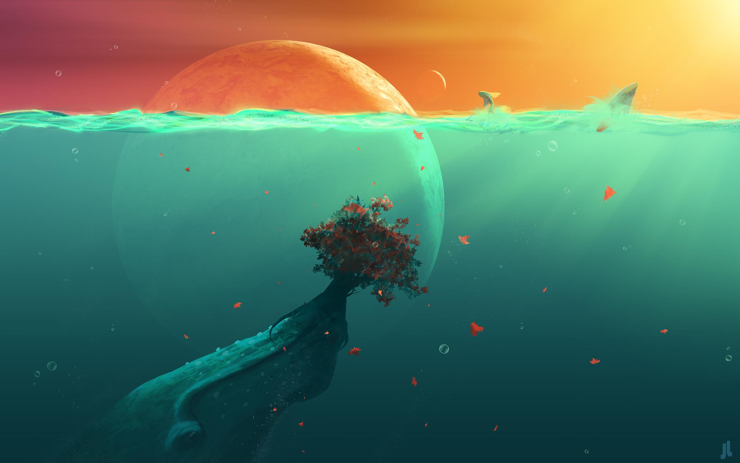 HD Wallpapers Deep Ocean Planet Fish