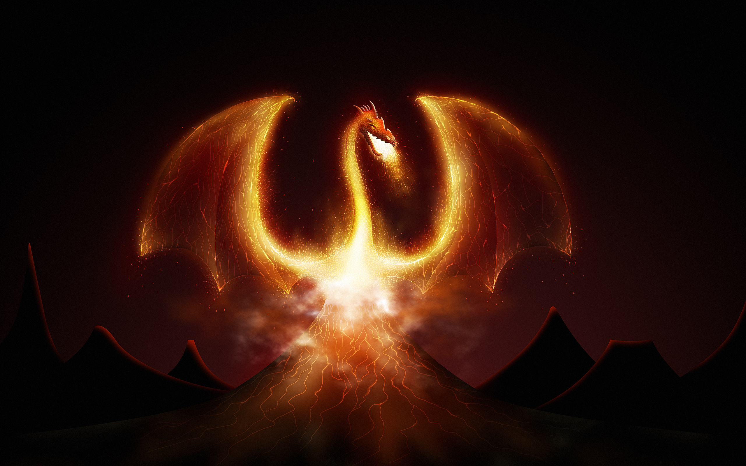 HD Wallpapers Dragon Fire