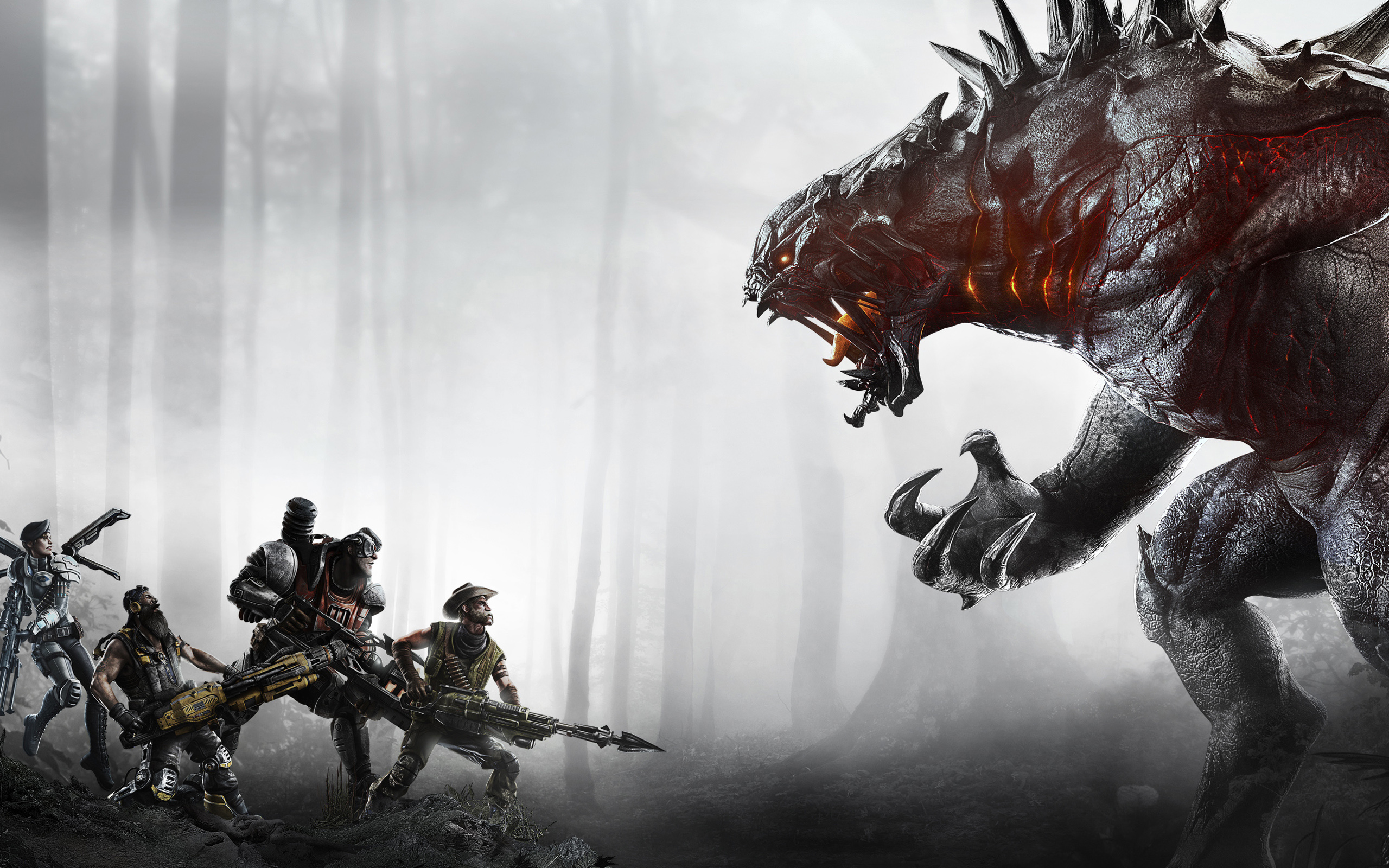 HD Wallpapers Evolve 2015 Game