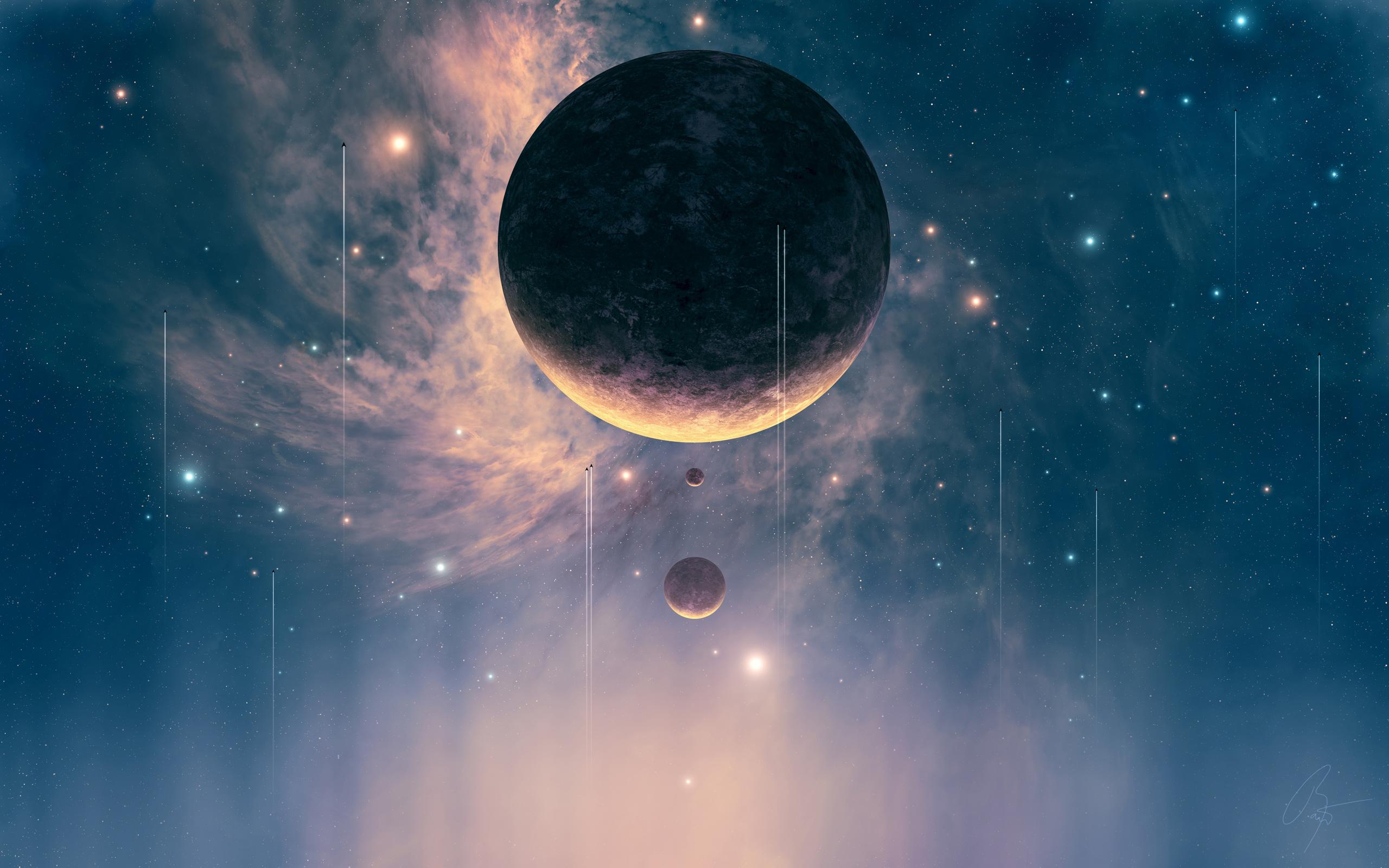 HD Wallpapers Falling Planet