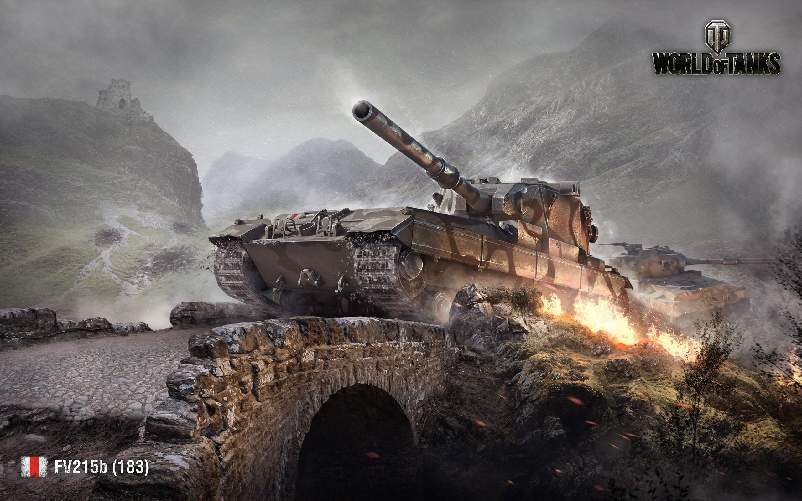 HD Wallpapers FV215b 183 World of Tanks