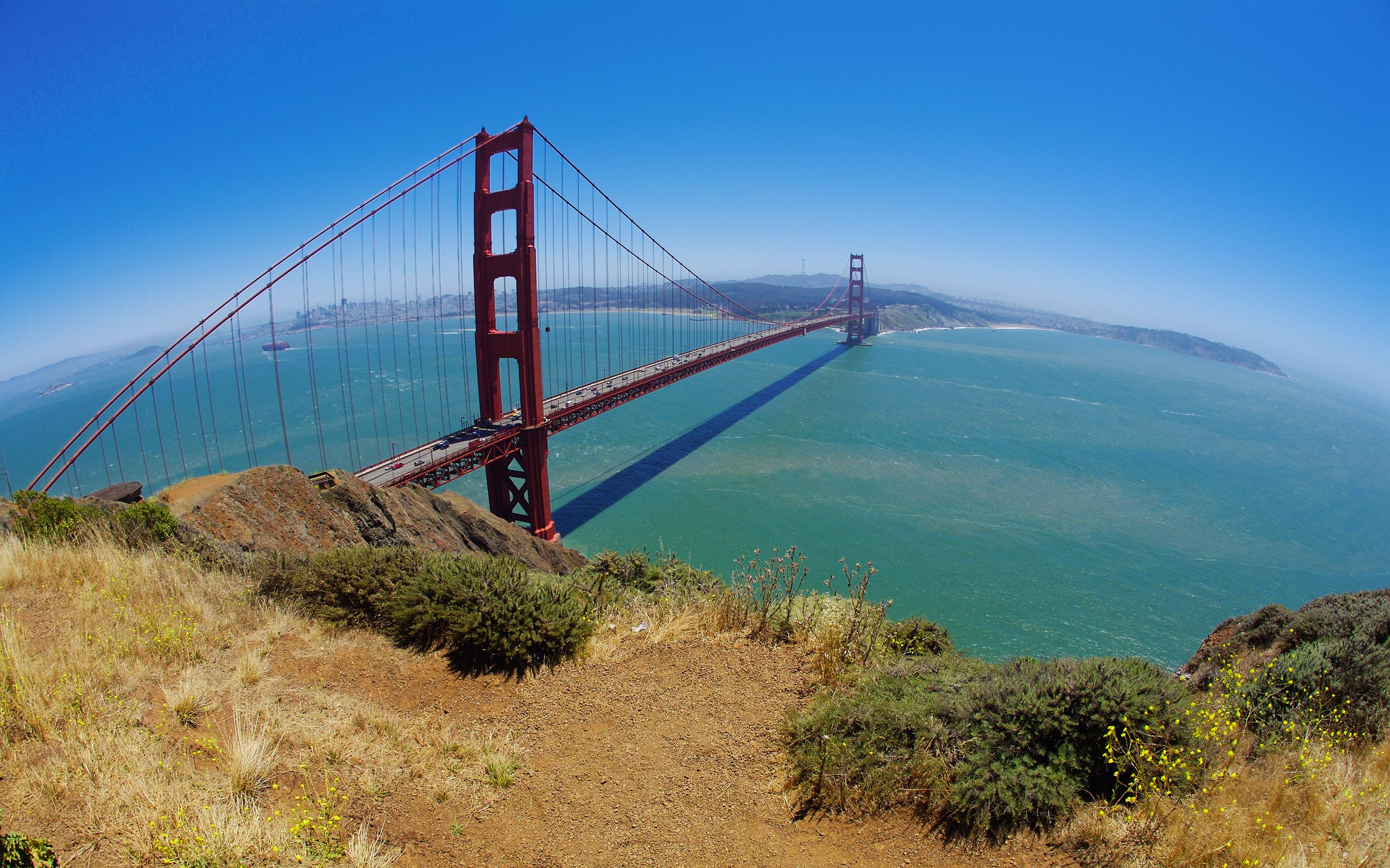 HD Wallpapers Golden Gate bridge, San Francisco