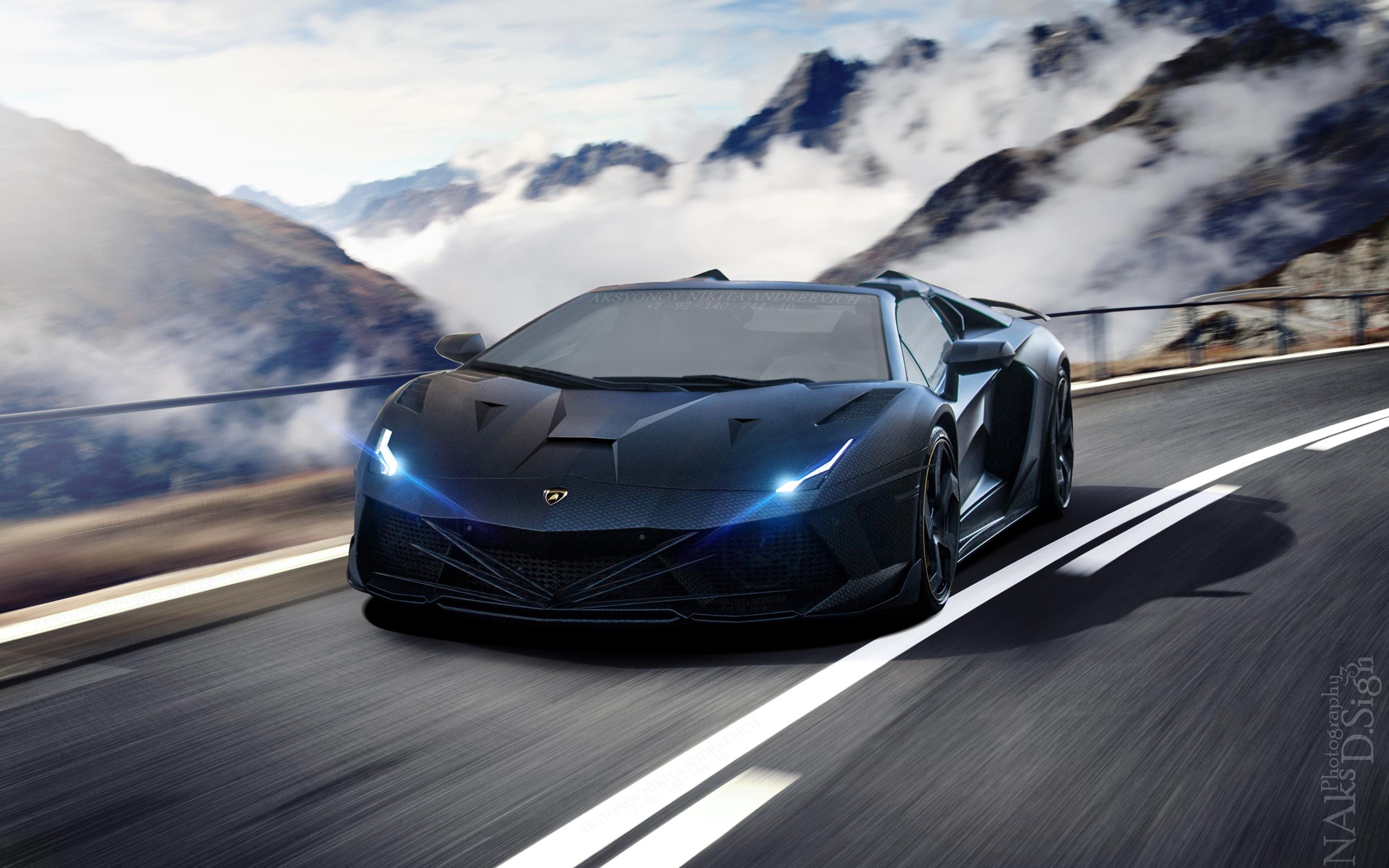 HD Wallpapers Insane Lamborghini Aventador