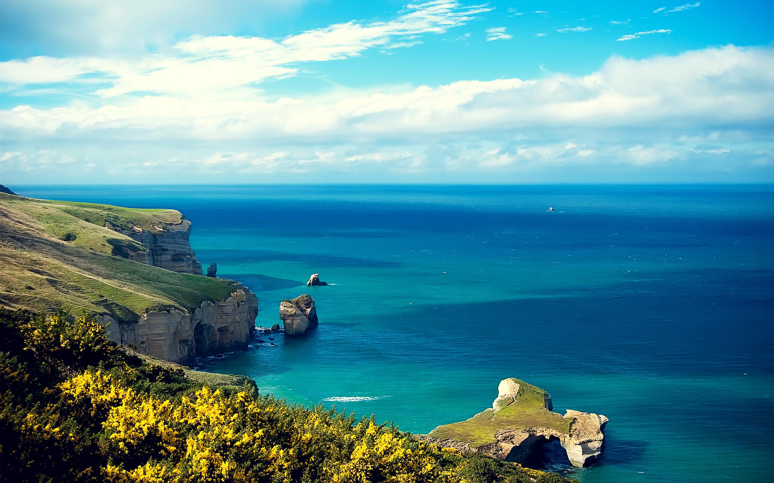 HD Wallpapers Isl Coastal Cliff