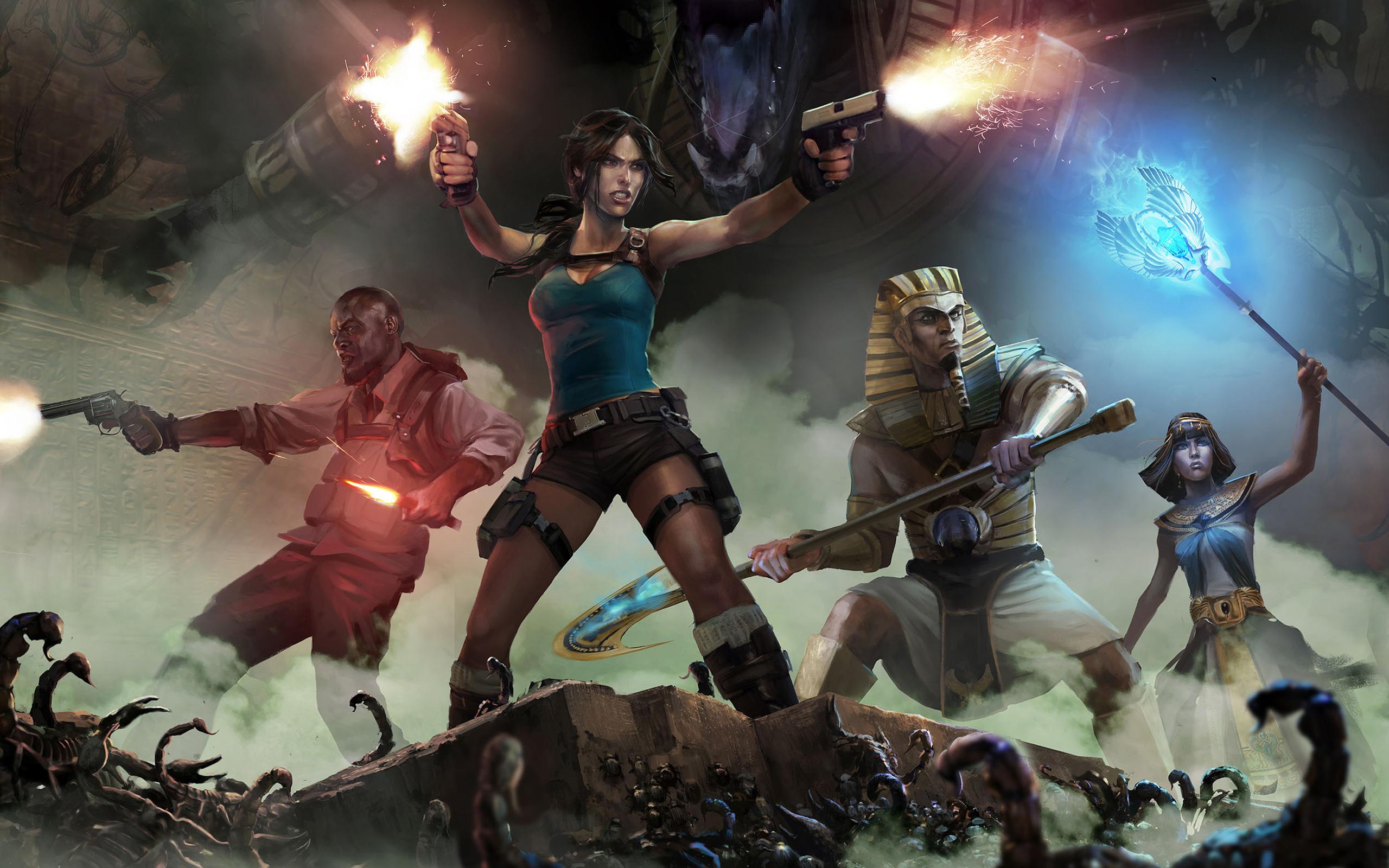 HD Wallpapers Lara Croft the Temple of Osiris