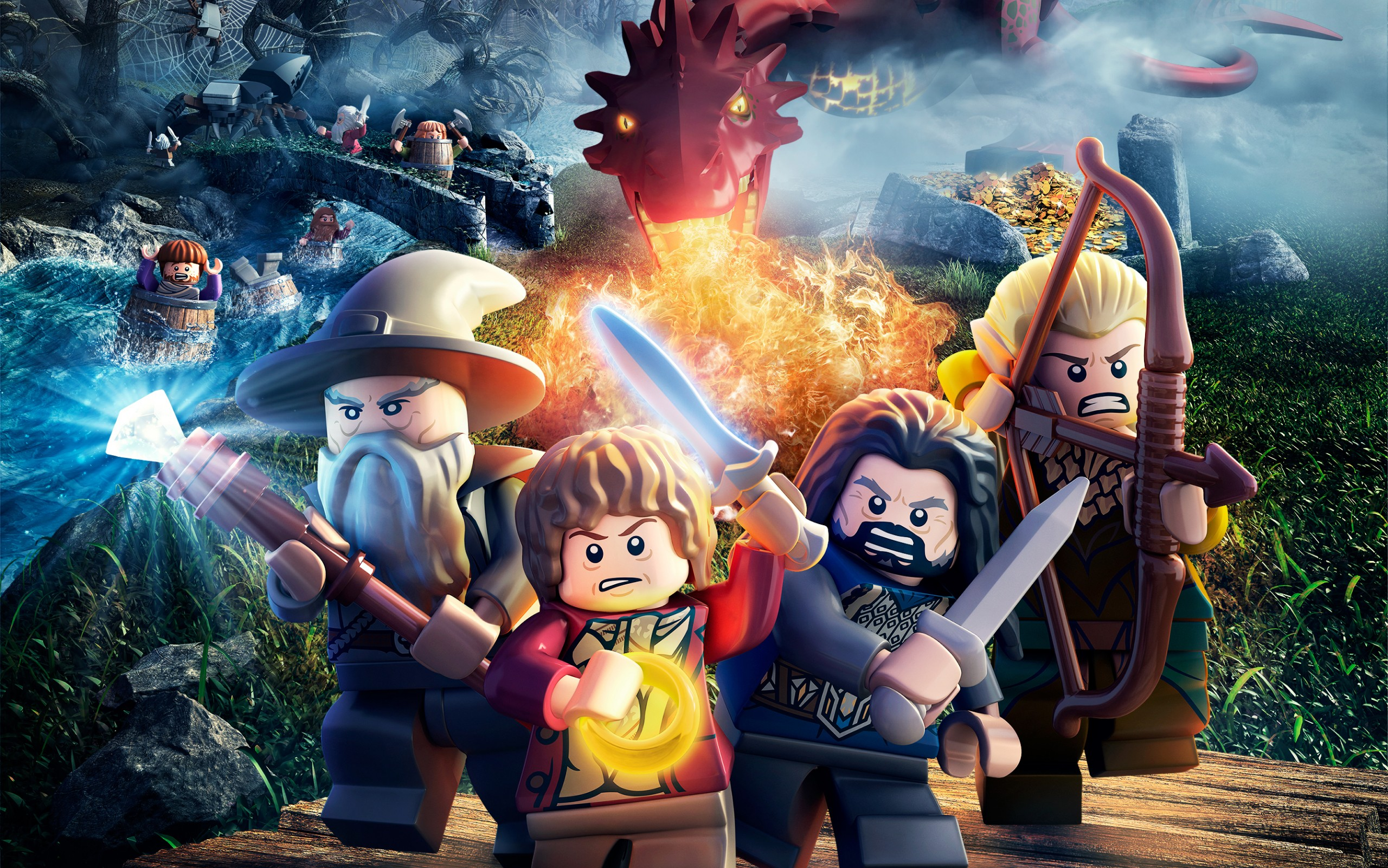 HD Wallpapers LEGO The Hobbit Game