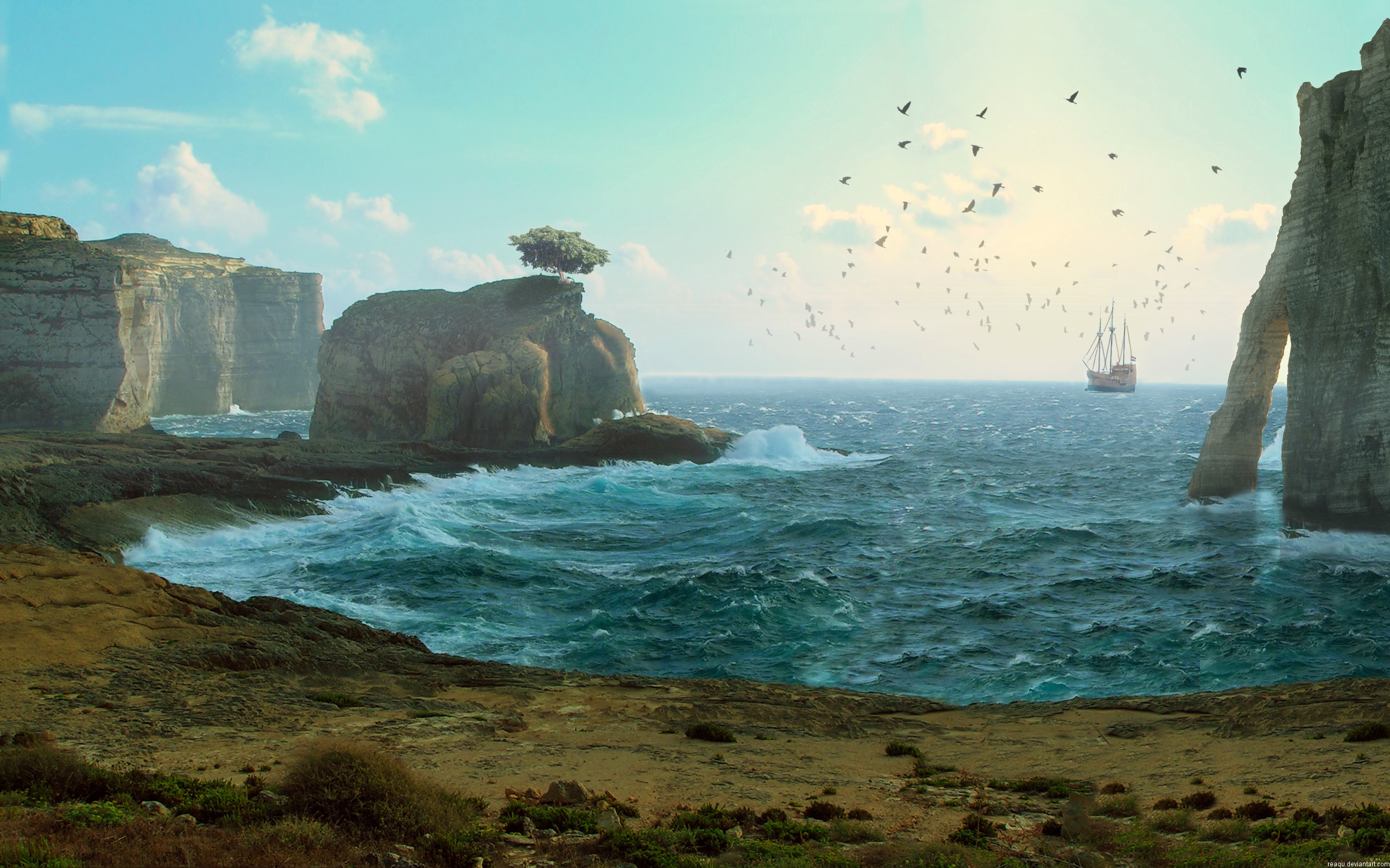 HD Wallpapers Lost Sail