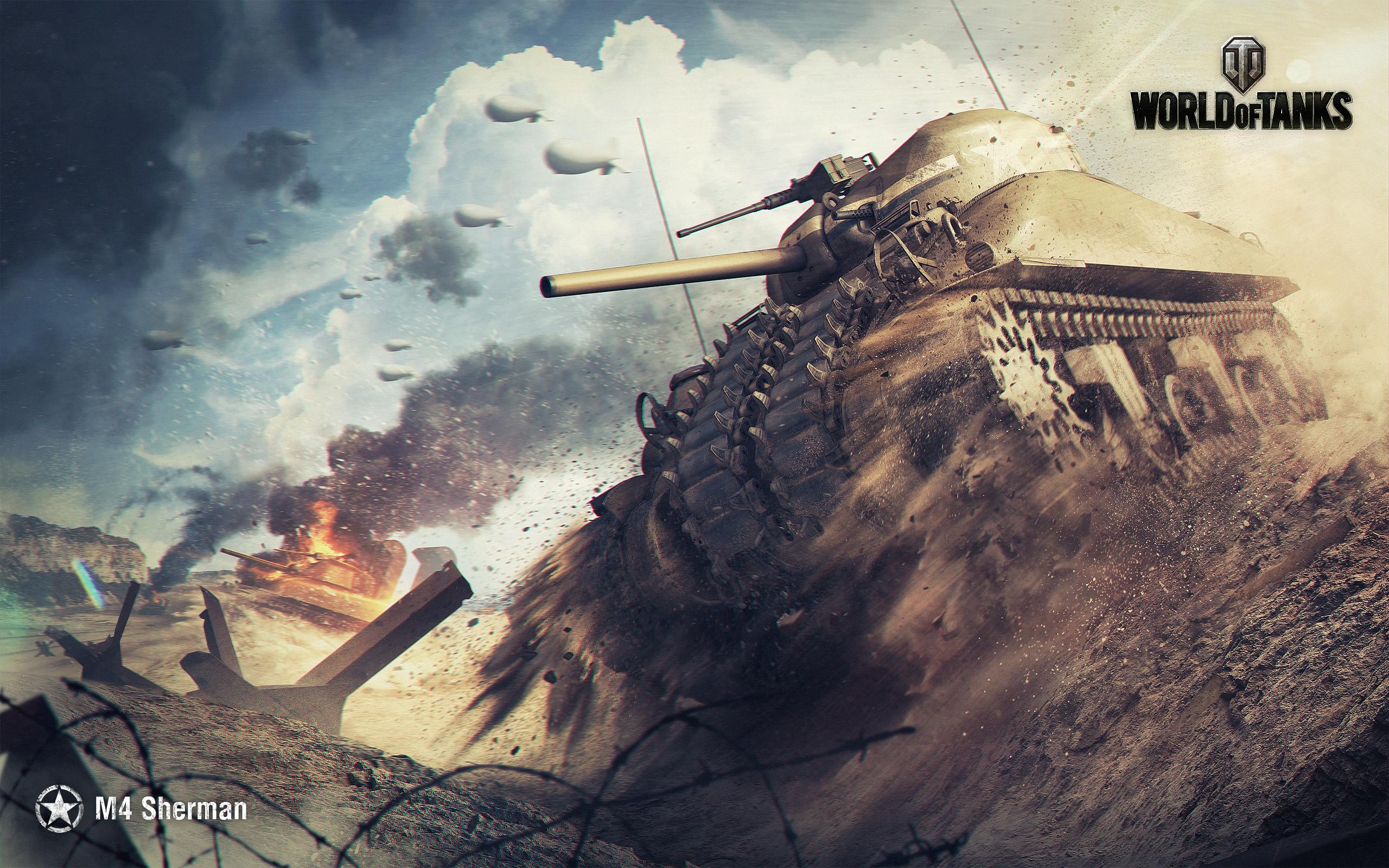 HD Wallpapers M4 Sherman World of Tanks