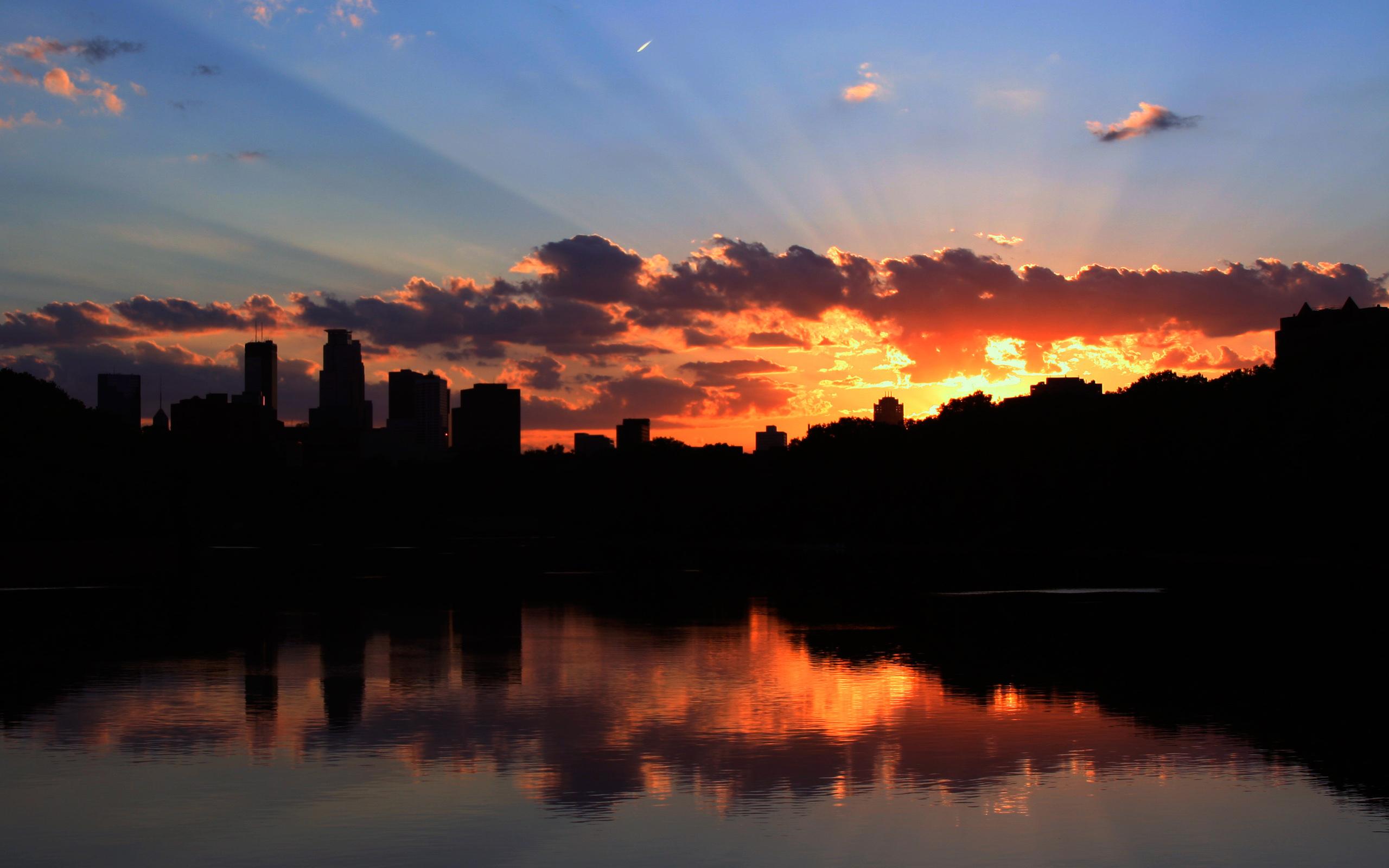 HD Wallpapers Minneapolis Sunset