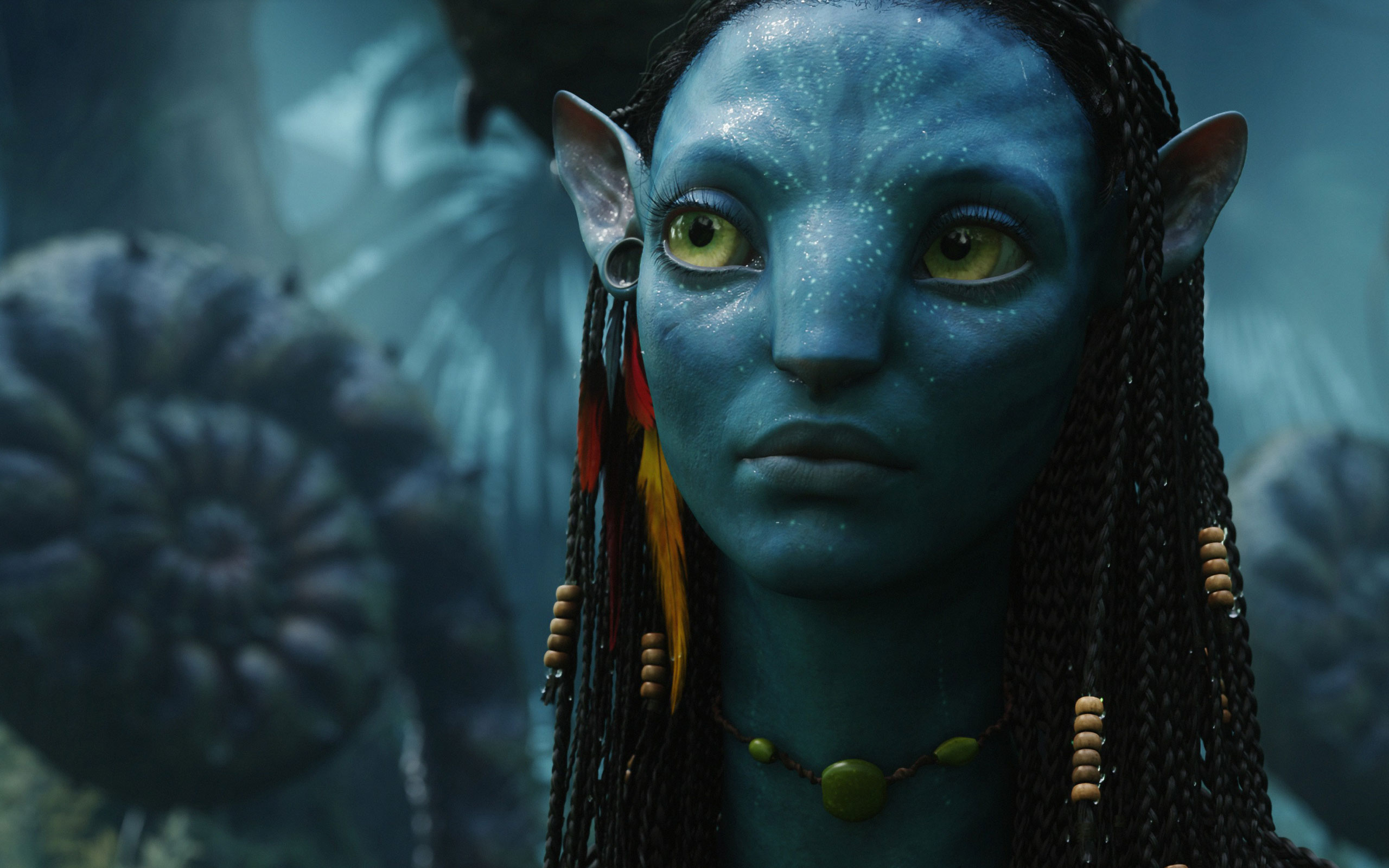 HD Wallpapers Neytiri Female in Avatar