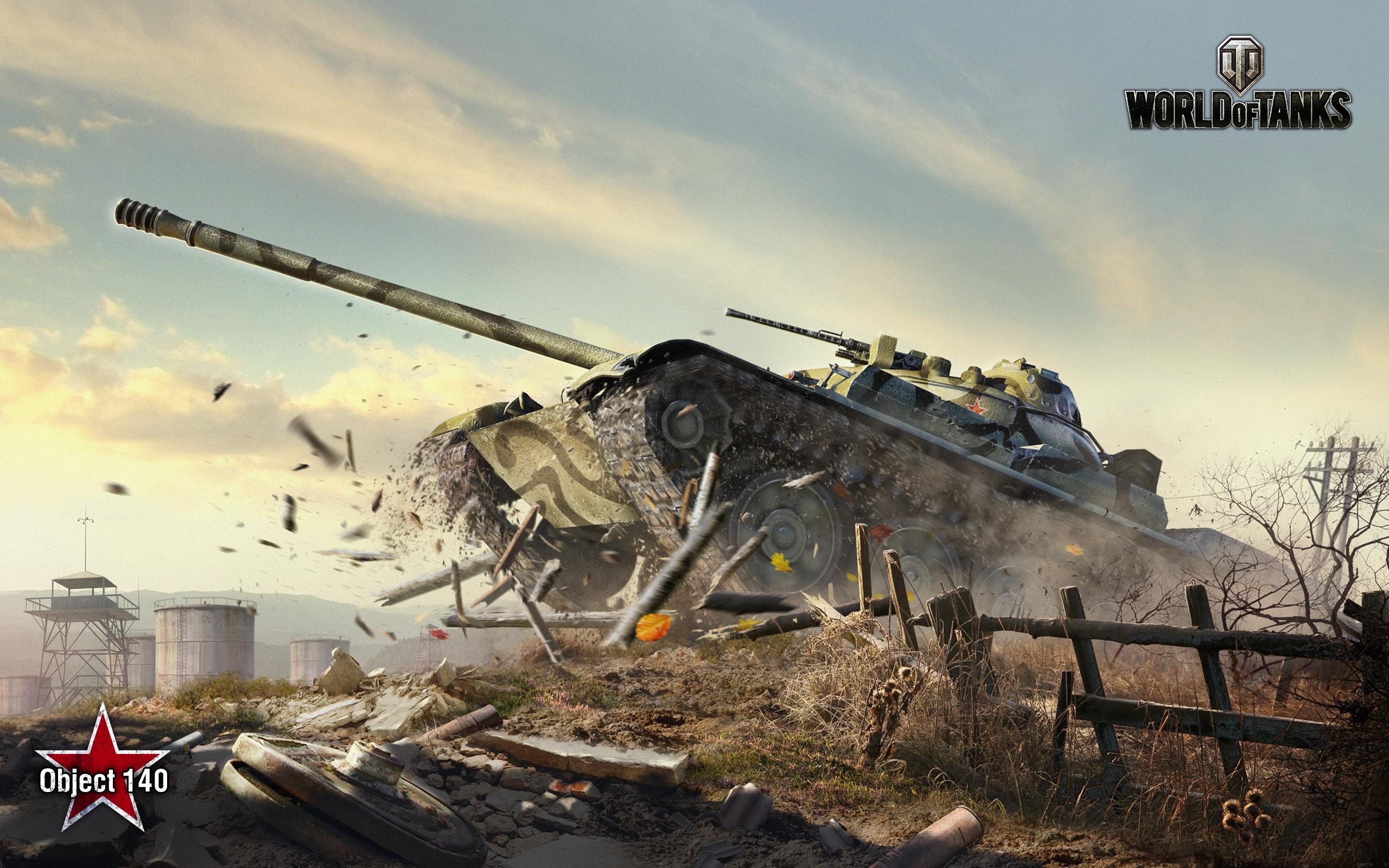 HD Wallpapers Obj 140 World of Tanks