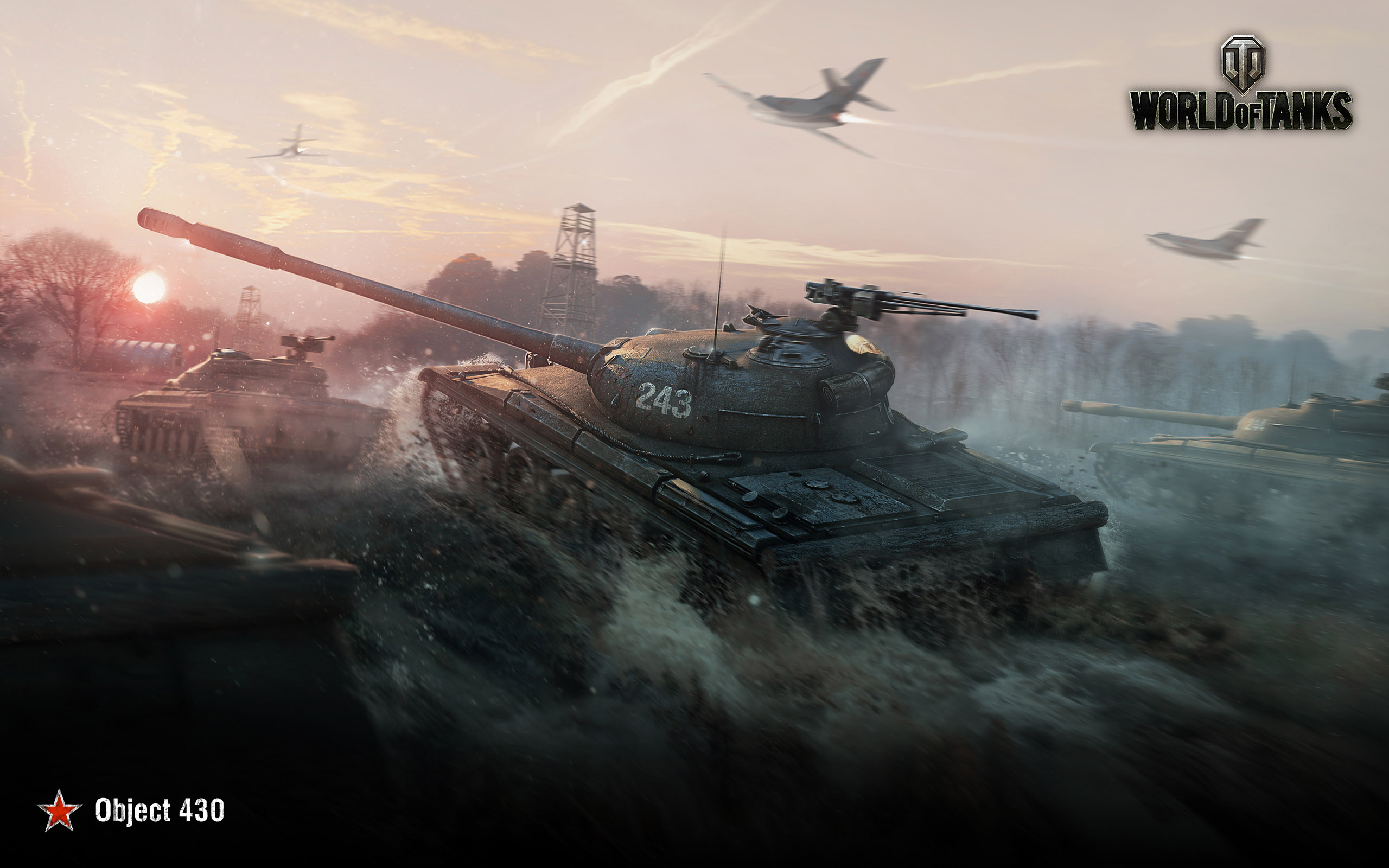 HD Wallpapers Obj 430 World of Tanks