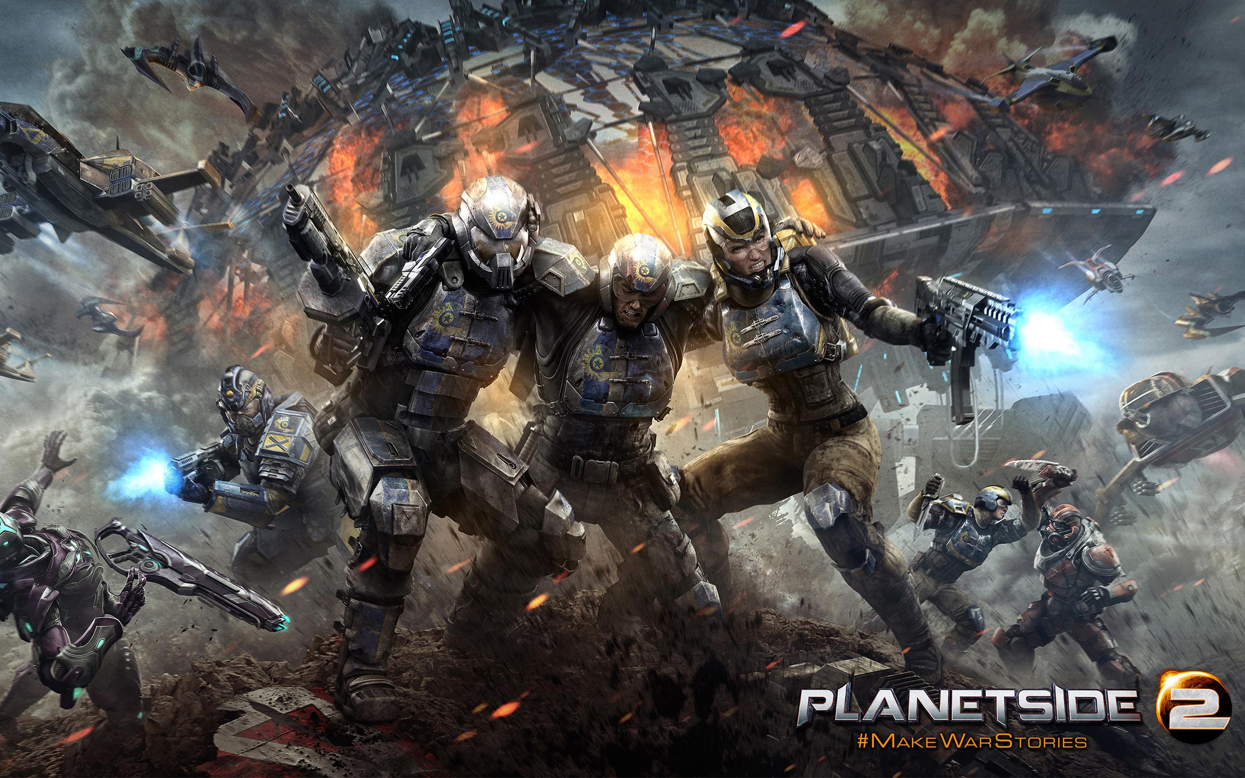 HD Wallpapers Planetside 2 PS4