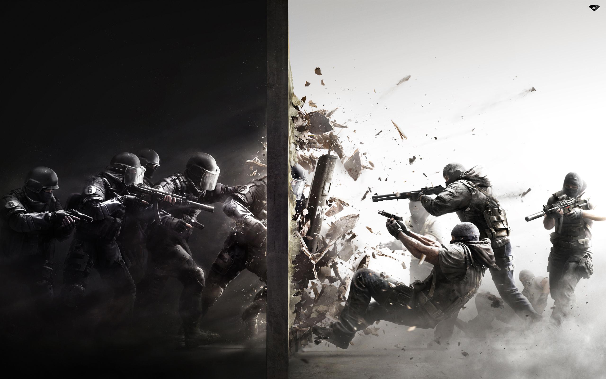 HD Wallpapers Rainbow Six Siege 2015 Game