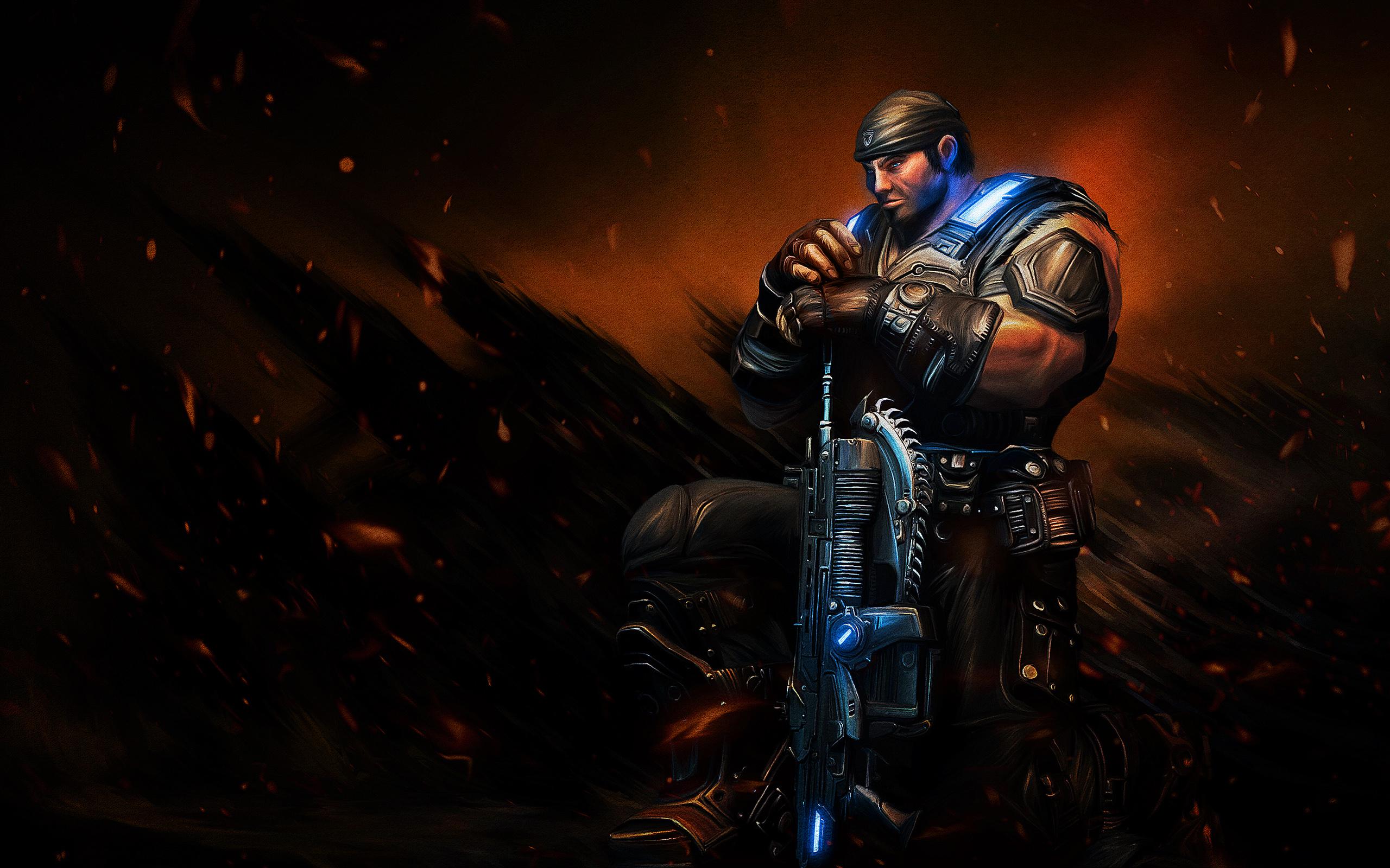 HD Wallpapers Sergeant Marcus Michael Fenix Gears of War