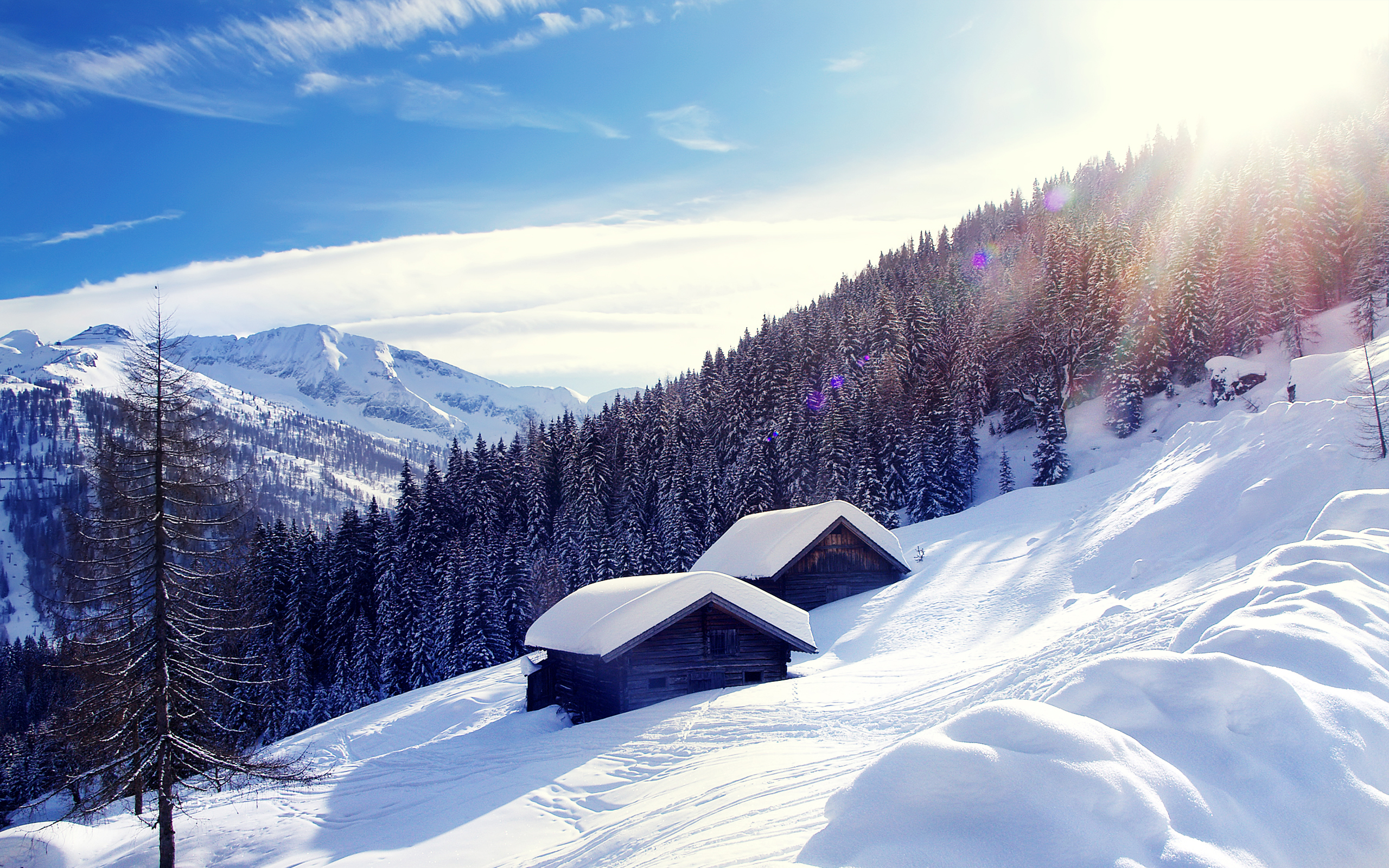 HD Wallpapers Ski Touring Austria Alps