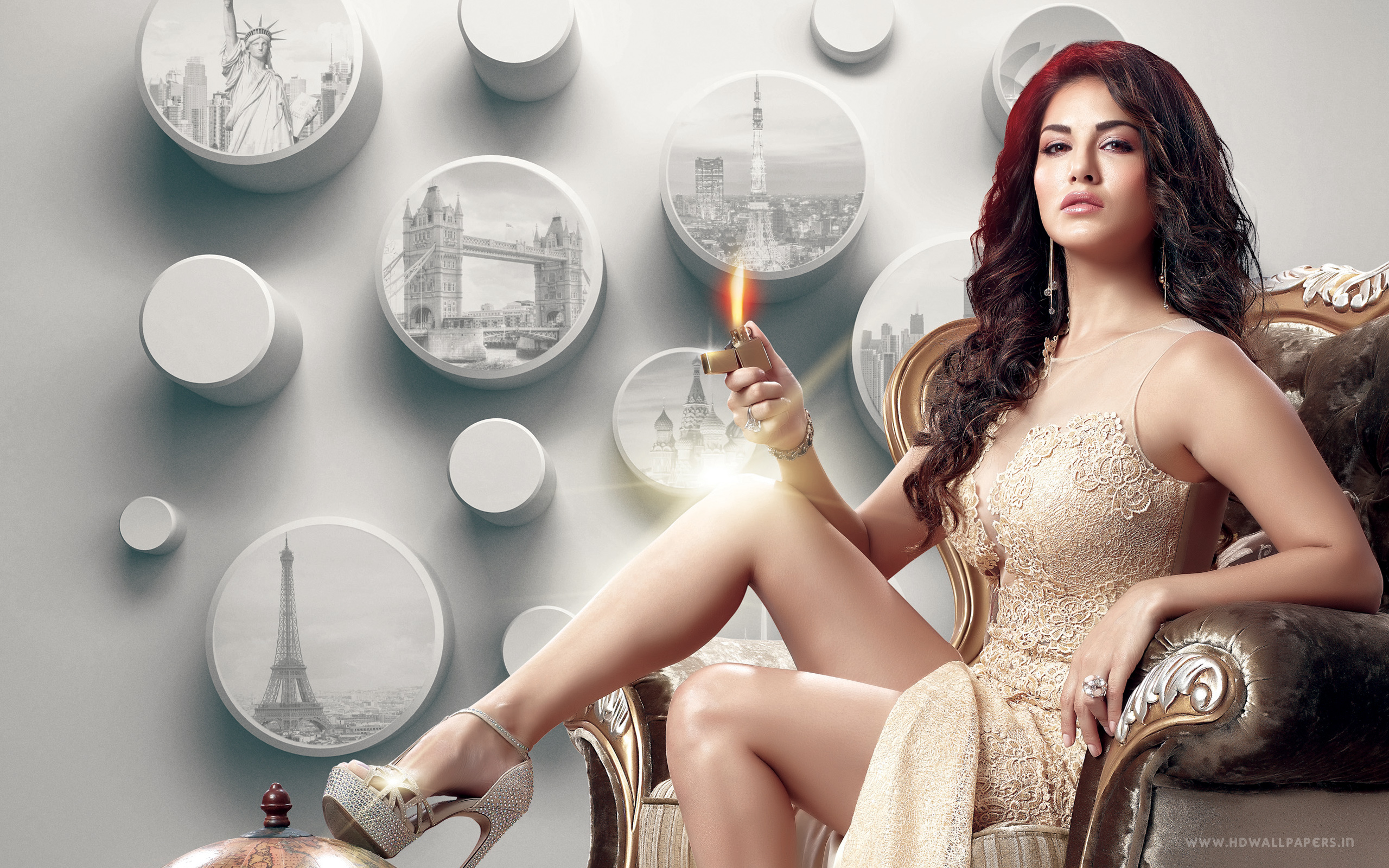 HD Wallpapers Sunny Leone Tera Beimaan Love