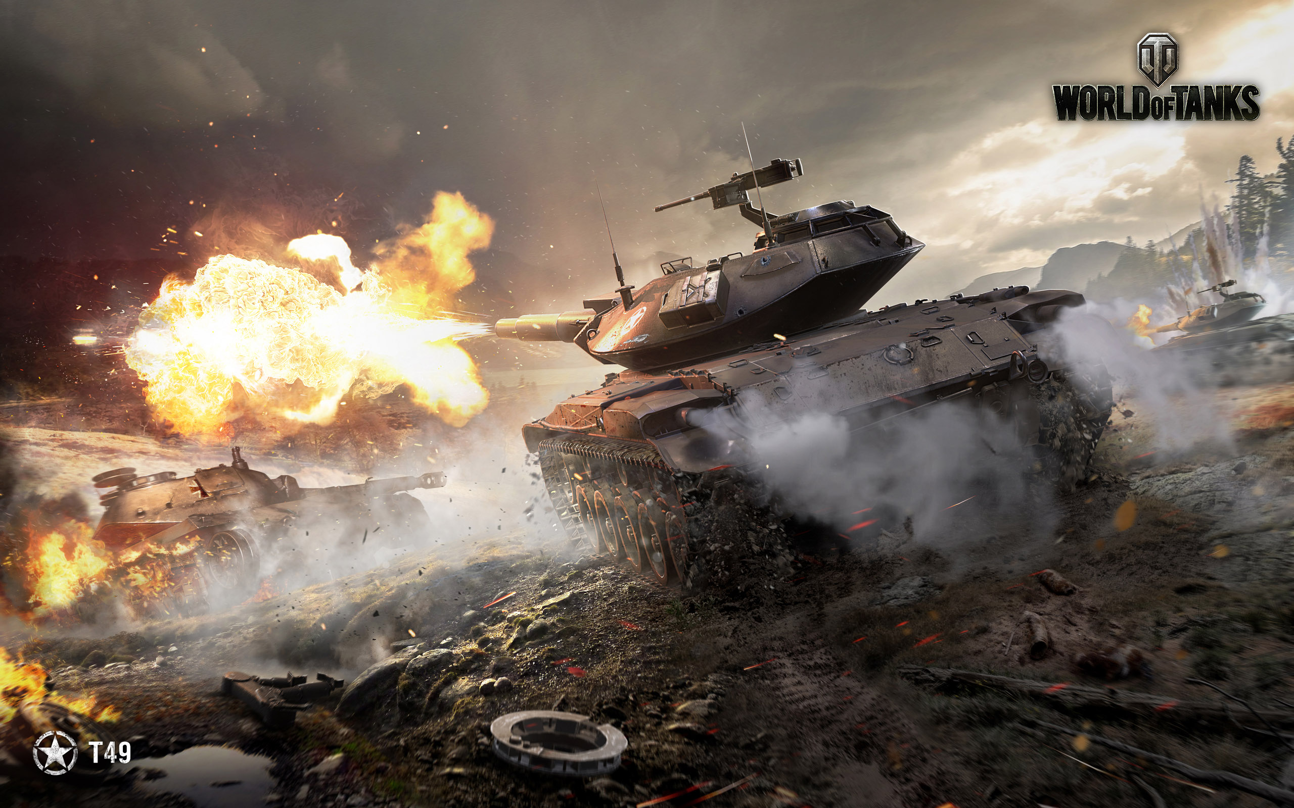HD Wallpapers T49 World of Tanks