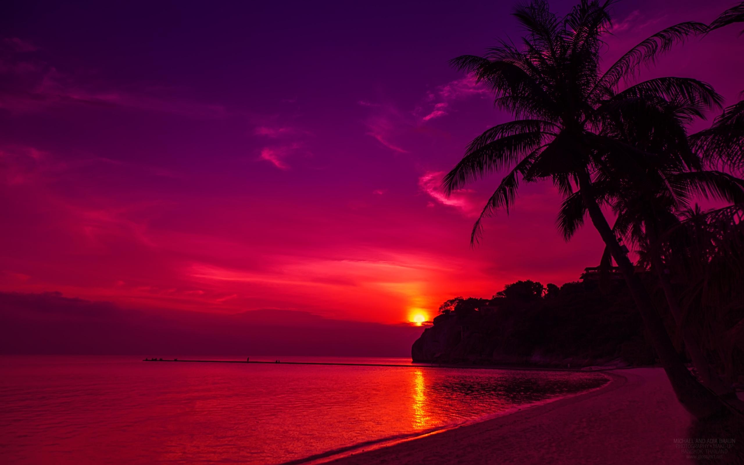 HD Wallpapers Thail Beach Sunset