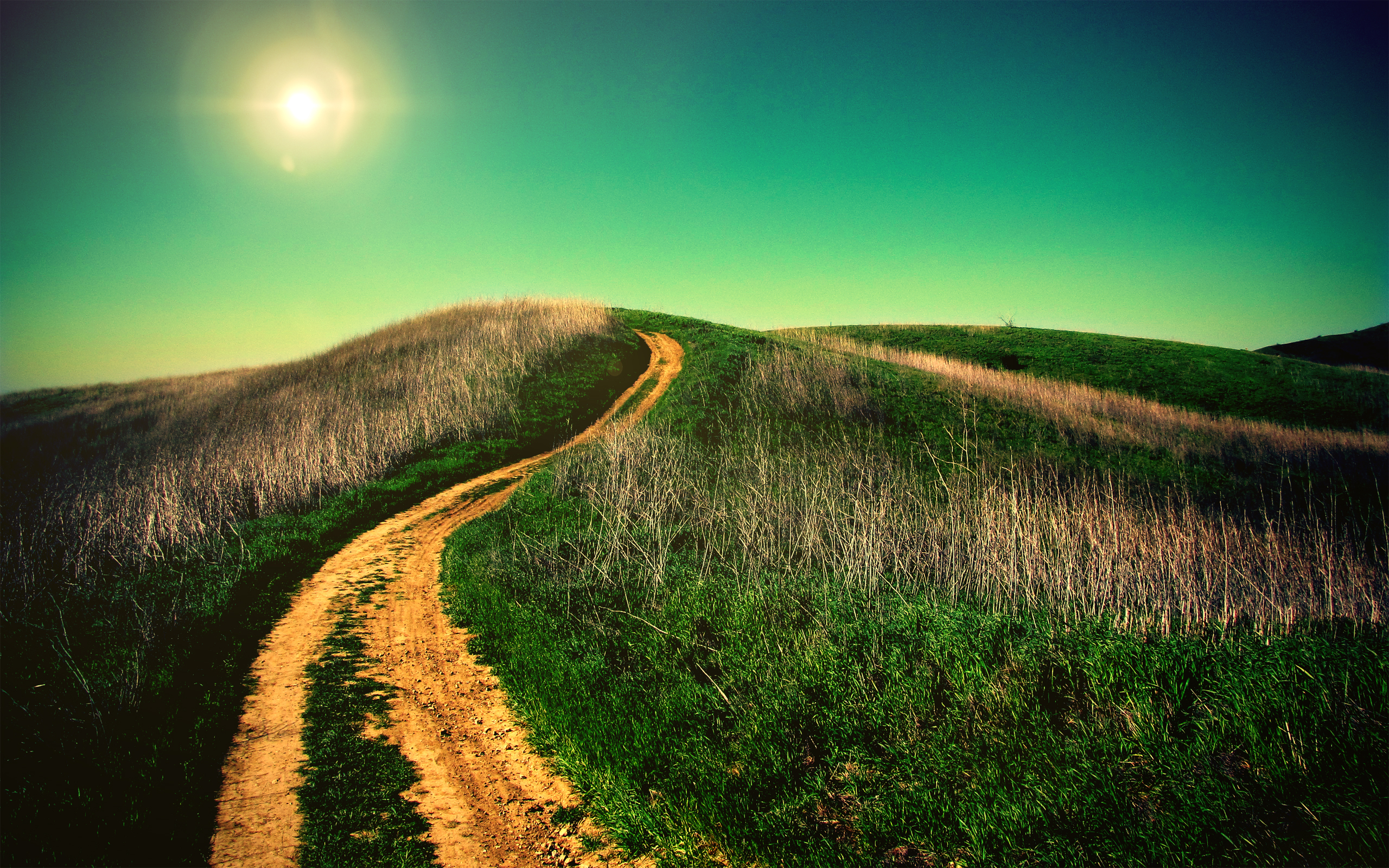 HD Wallpapers Uphill Road
