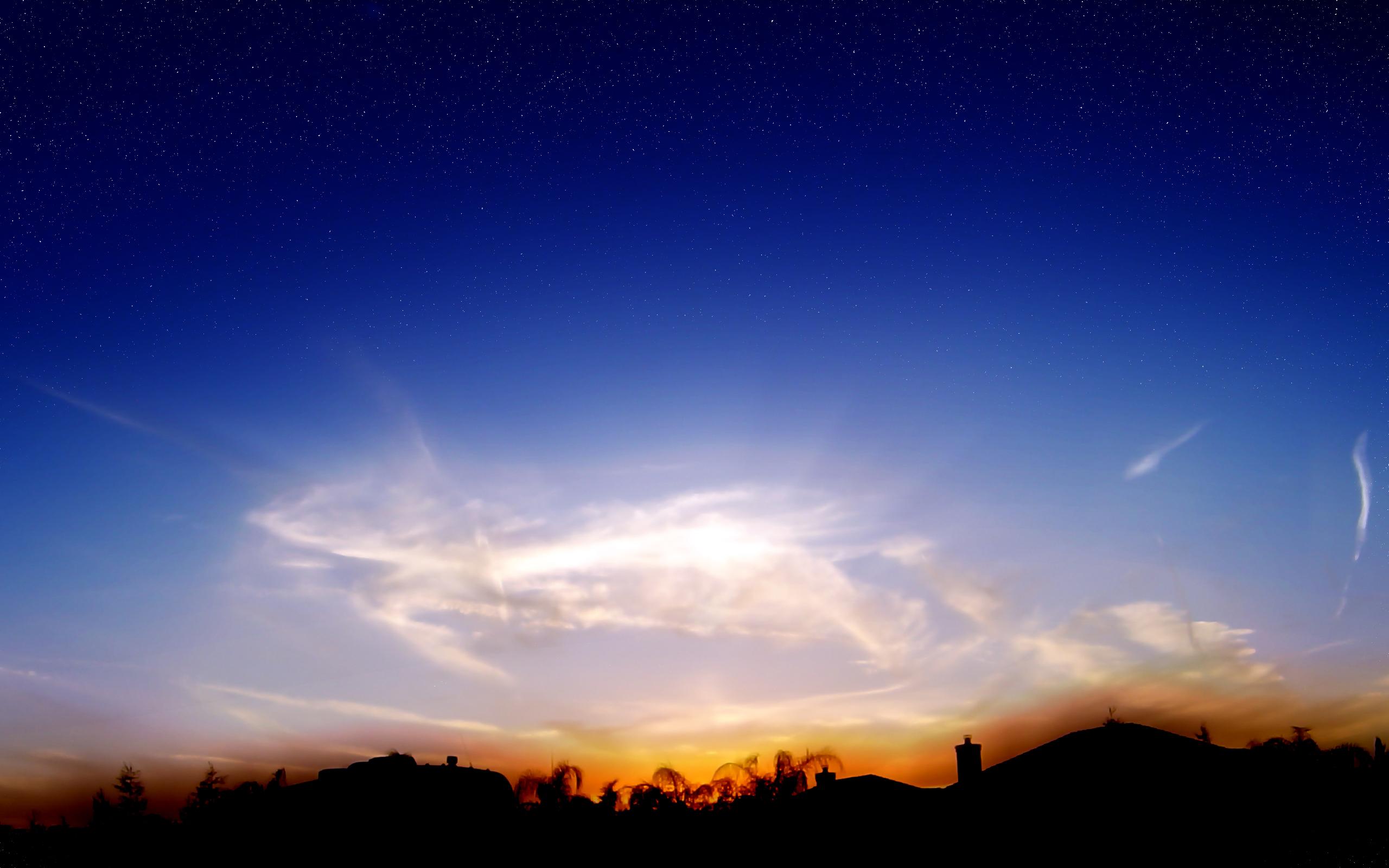 HD Wallpapers Wispy Sunset