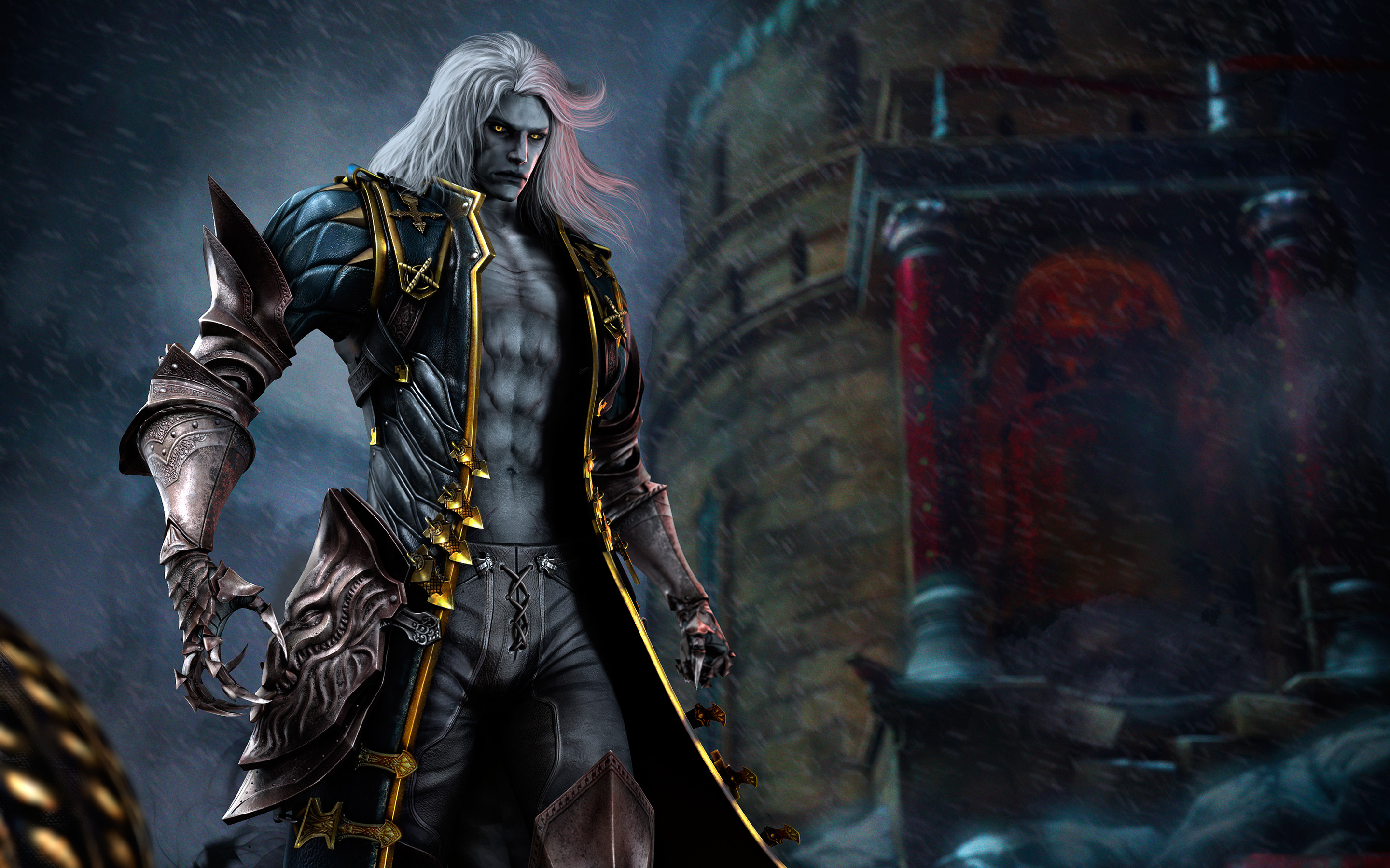 HD Wallpapers Alucard in Castlevania Lords of Shadow 2
