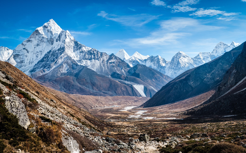 HD Wallpapers Ama Dablam Himalaya Mountains