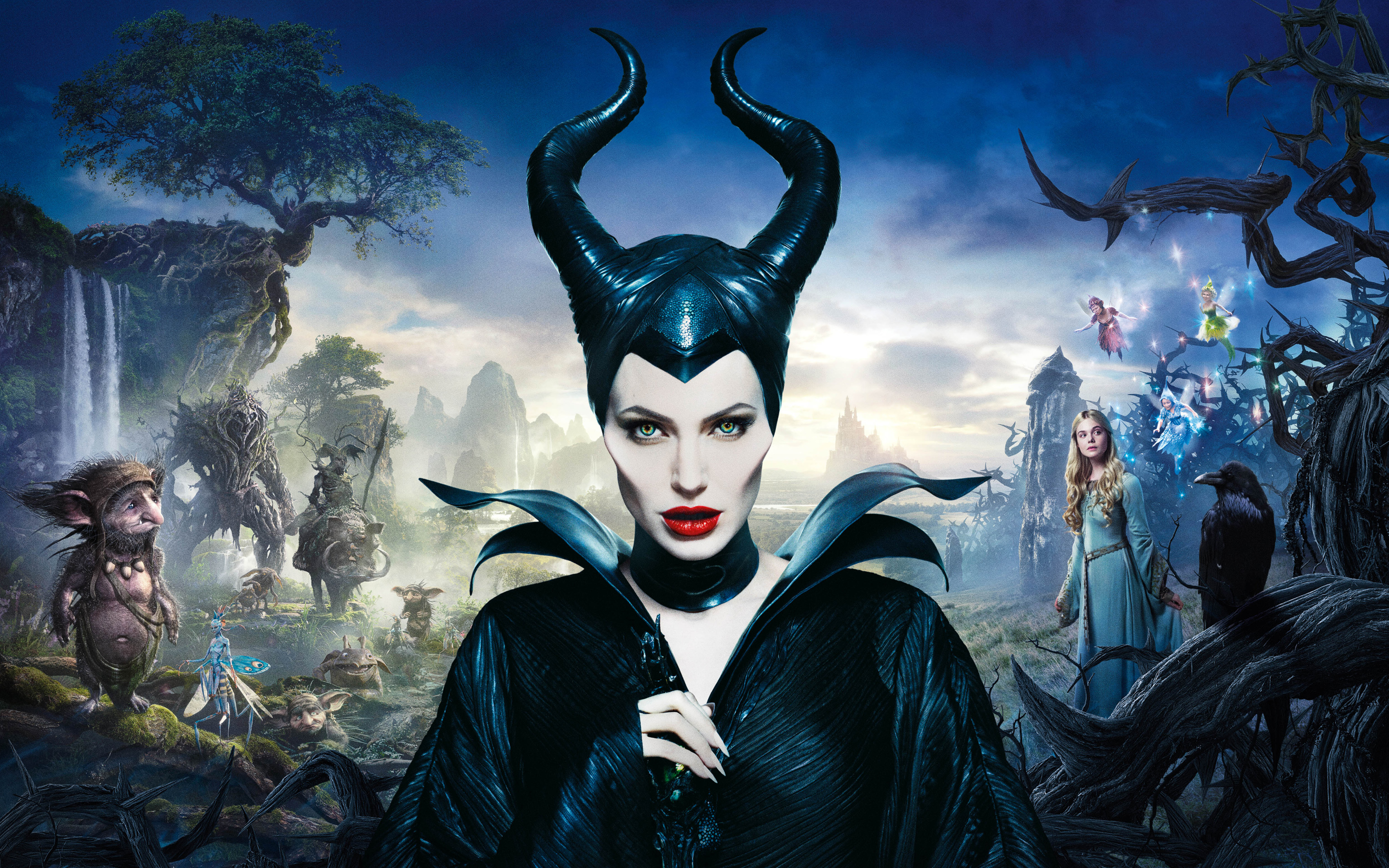 HD Wallpapers Angelina Jolie in Maleficent