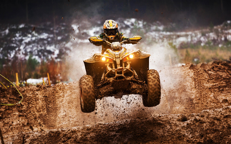 HD Wallpapers ATV Motocross Quadrocycle