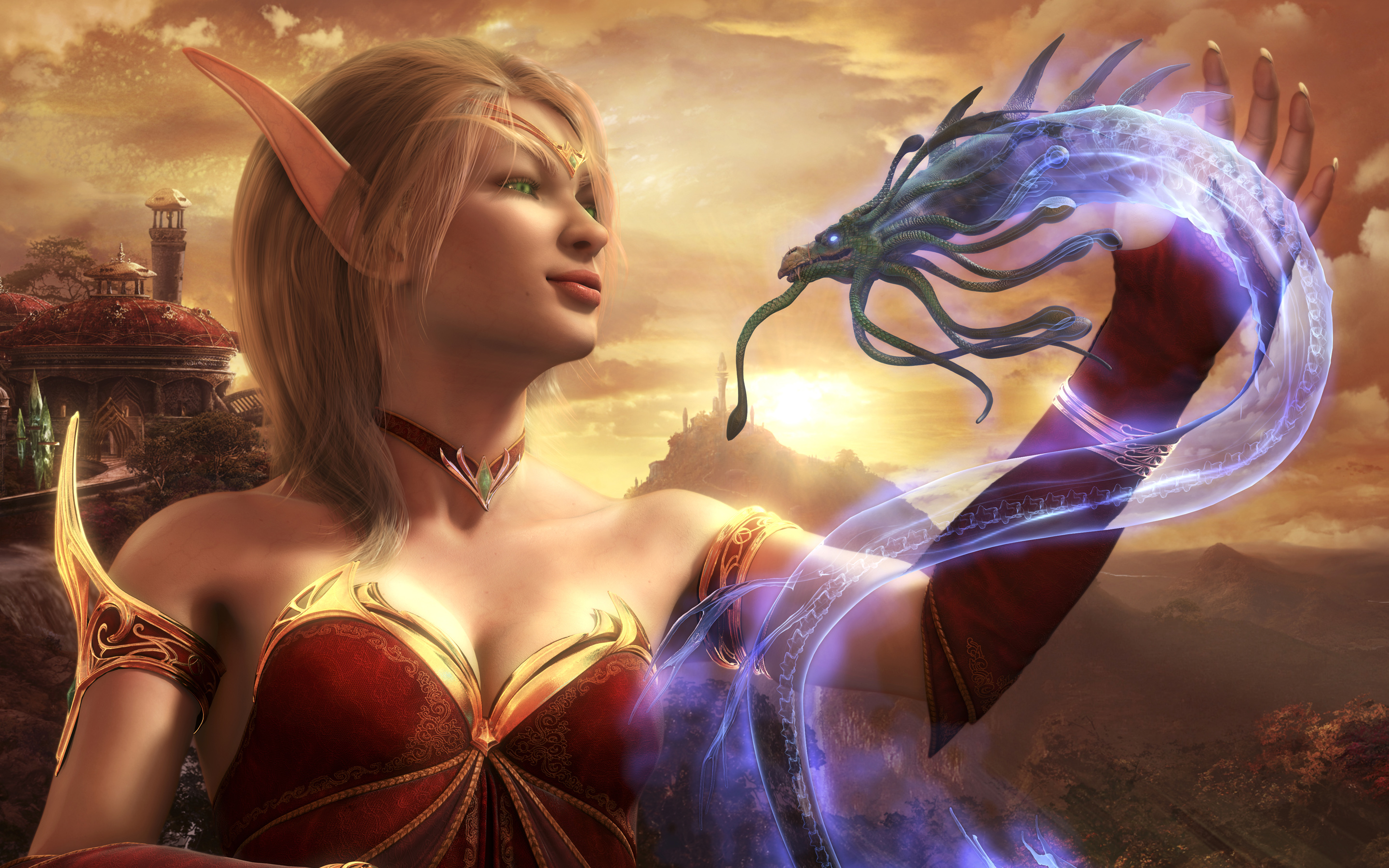 HD Wallpapers Blood Elf World Of Warcraft