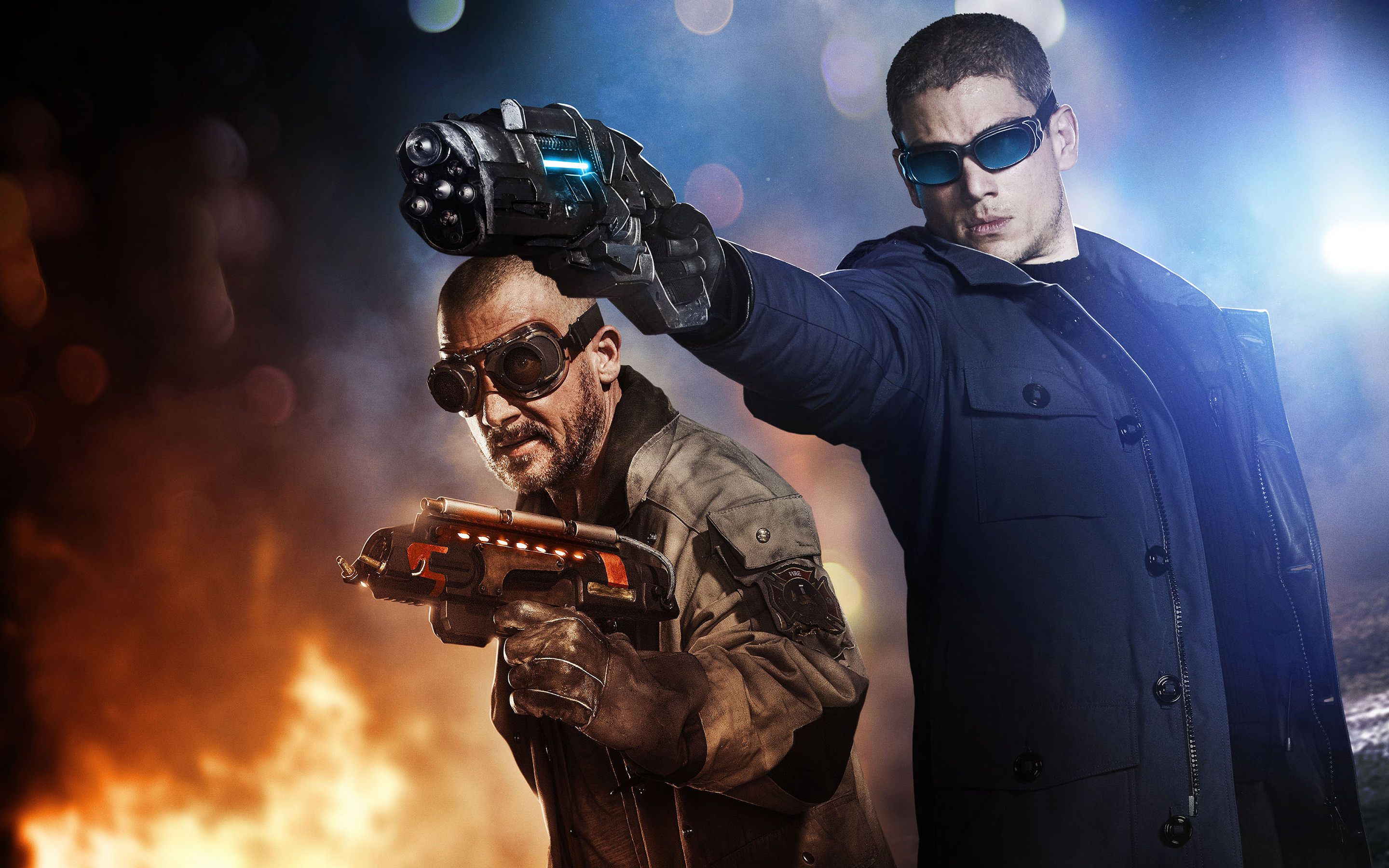 HD Wallpapers Captain Cold & Heat Wave The Flash