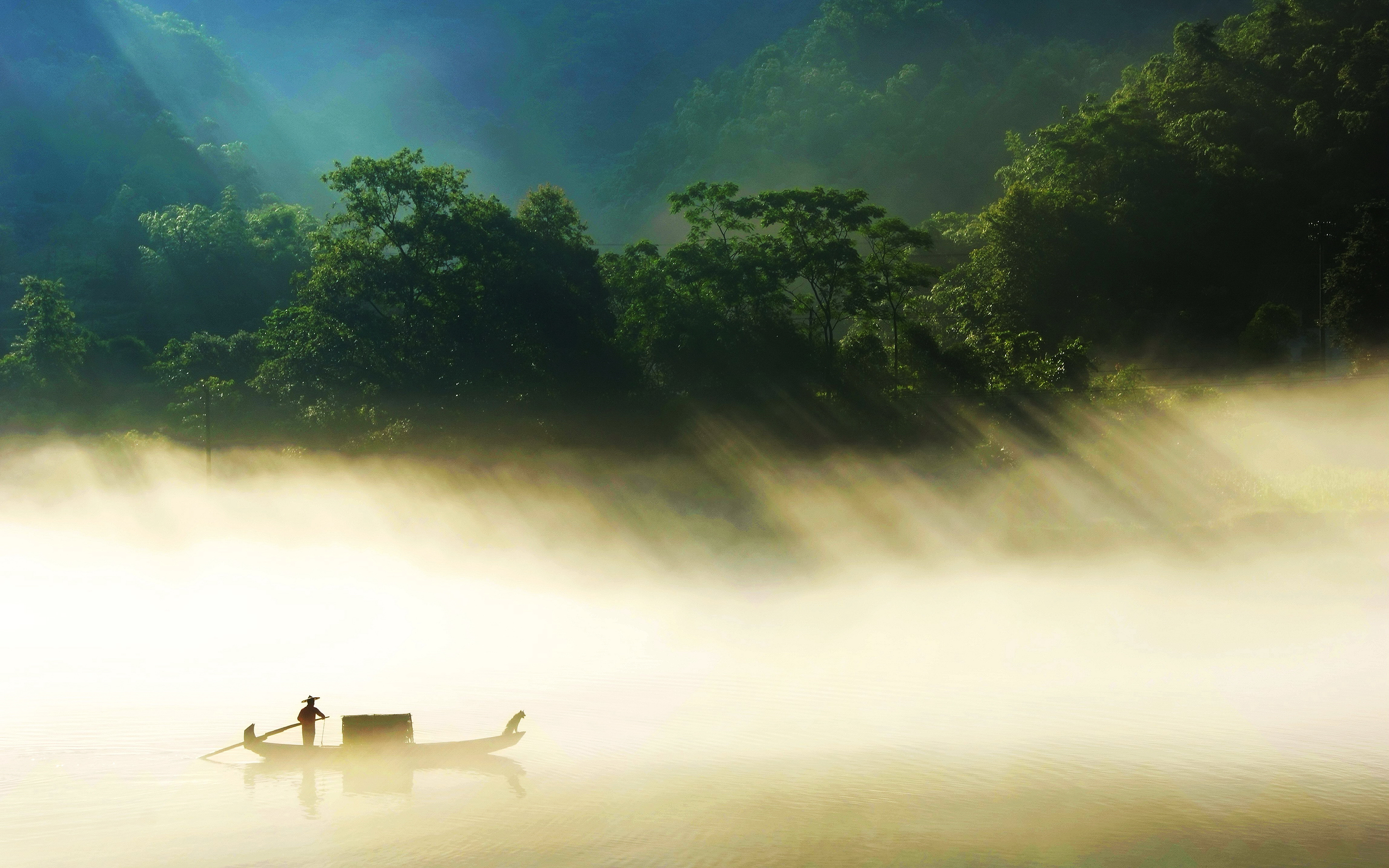 HD Wallpapers Countryside Fisherman