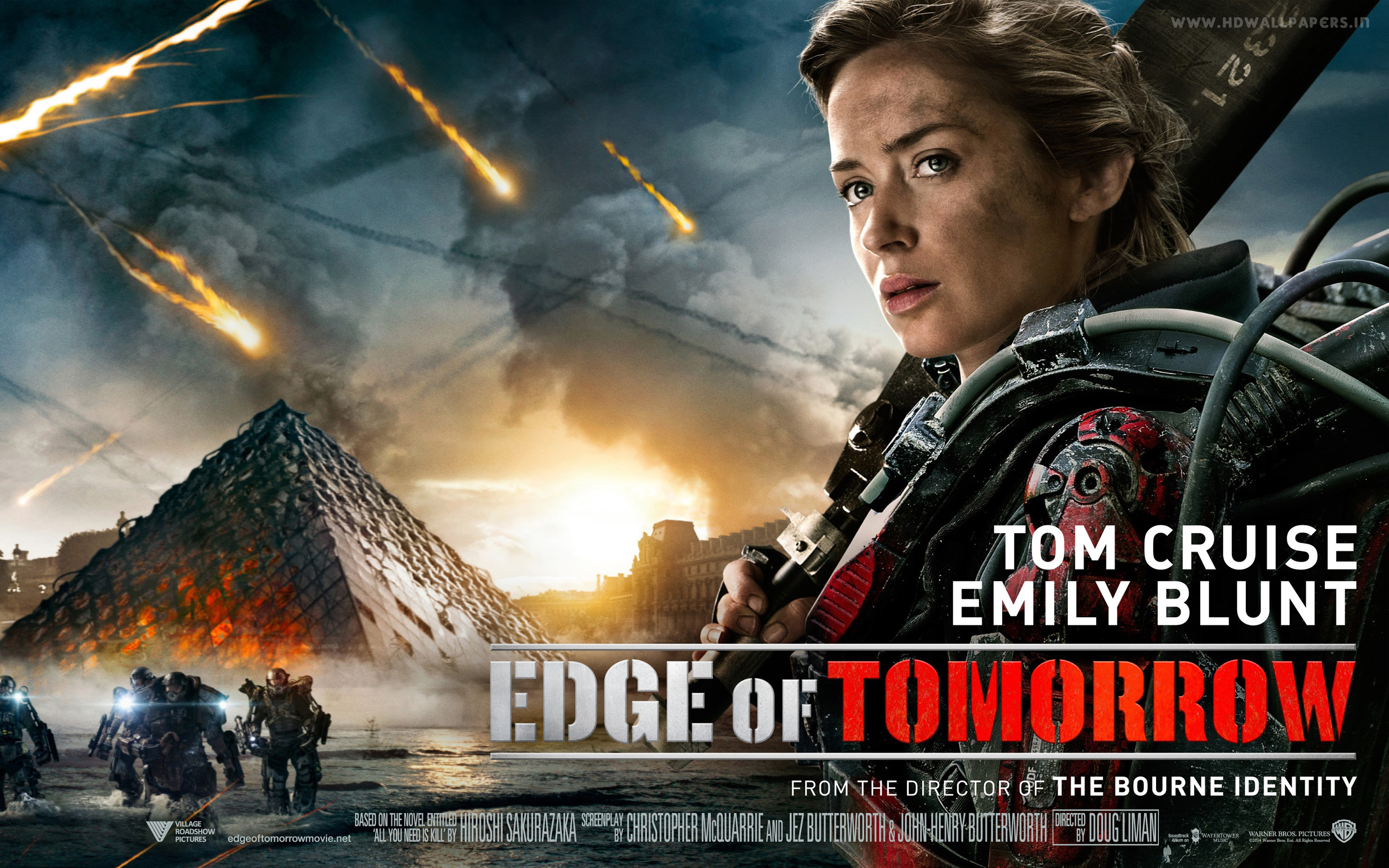 HD Wallpapers Emily Blunt in Edge of Tomorrow