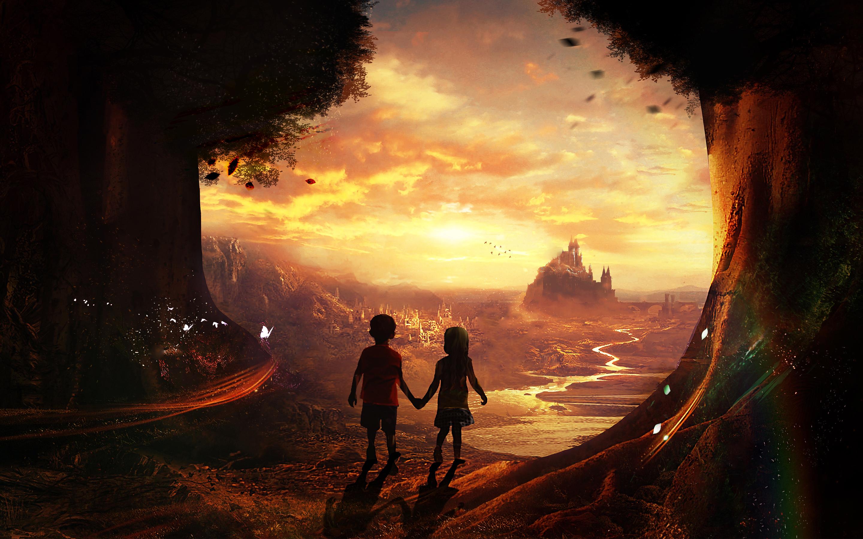 HD Wallpapers Fairy Tales Kids