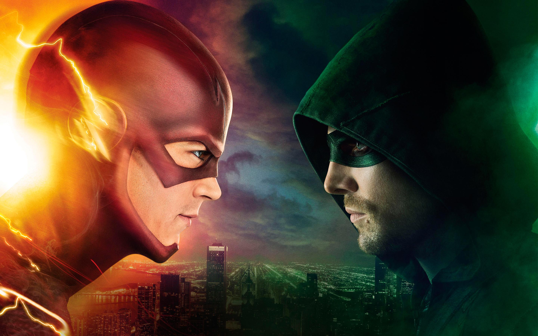 HD Wallpapers Flash vs Arrow