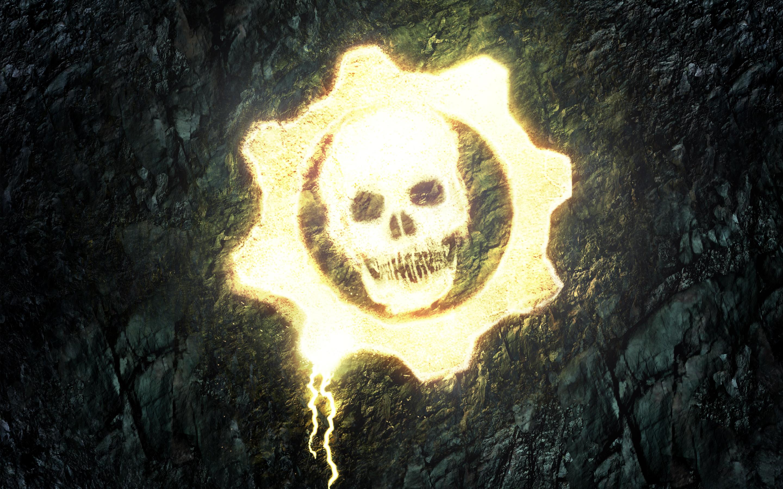 HD Wallpapers Gears of War Skull