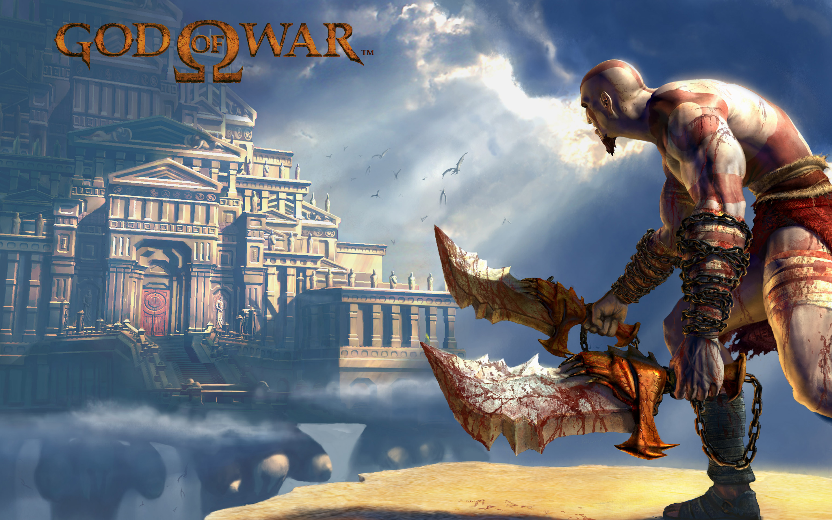 HD Wallpapers God of War 2 Game