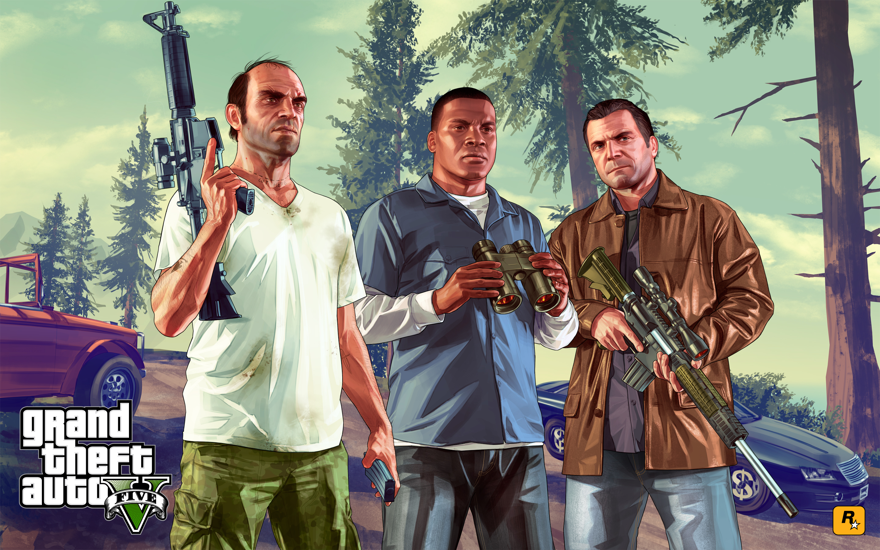 HD Wallpapers Gr Theft Auto GTA 5