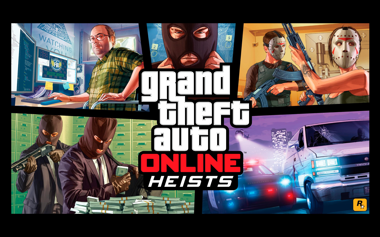 HD Wallpapers Gr Theft Auto Online Heists