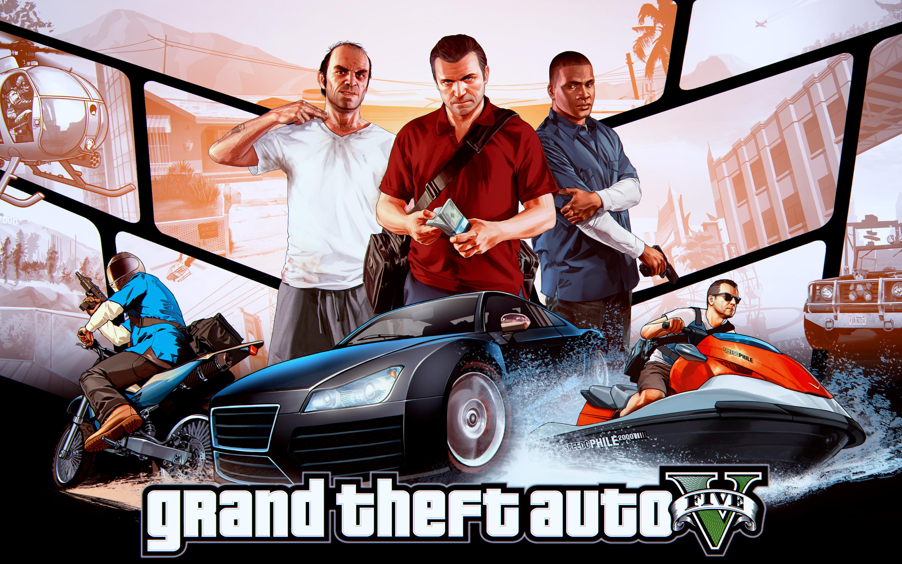 HD Wallpapers Gr Theft Auto V
