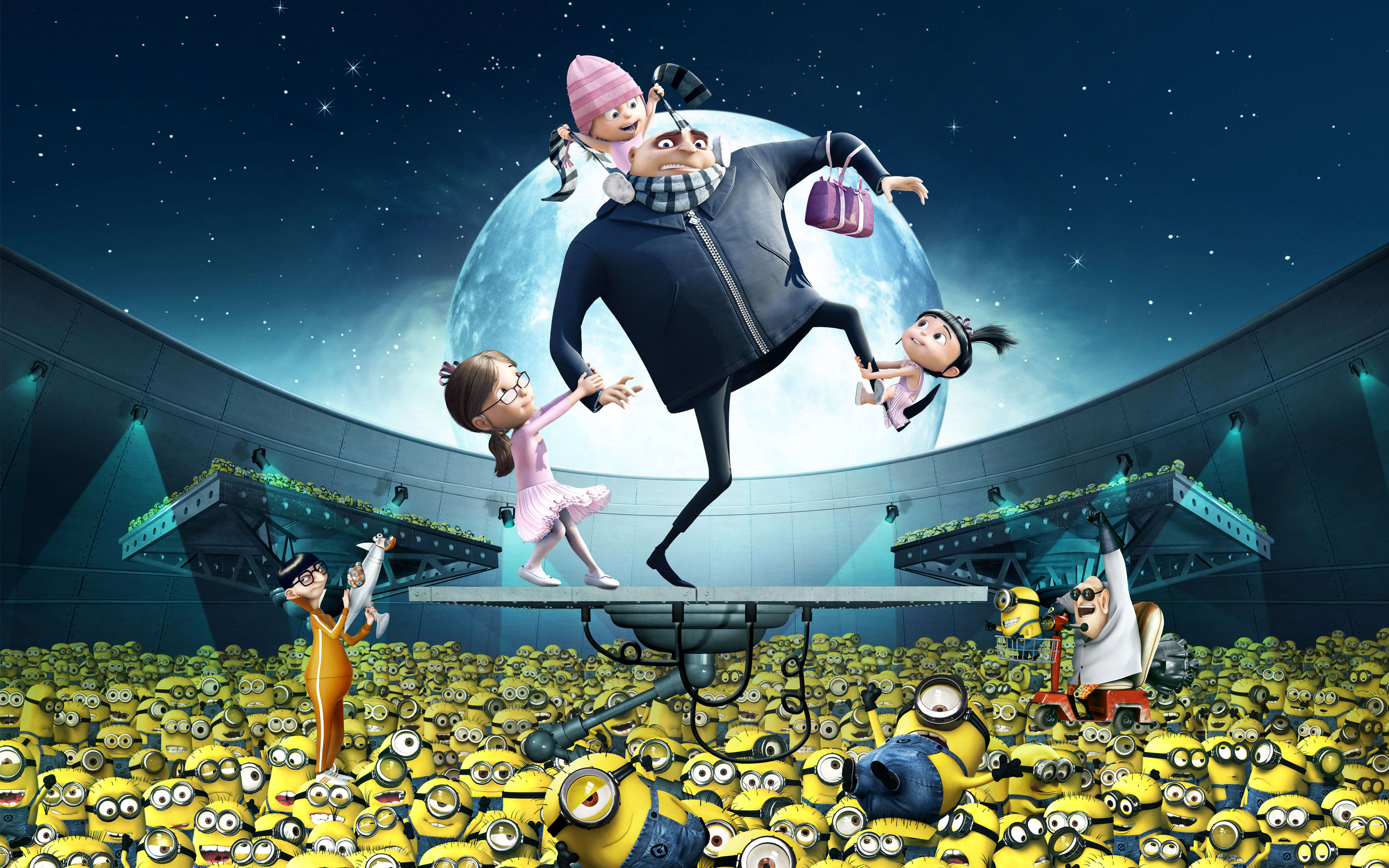 HD Wallpapers Gru Kids Minions Despicable Me