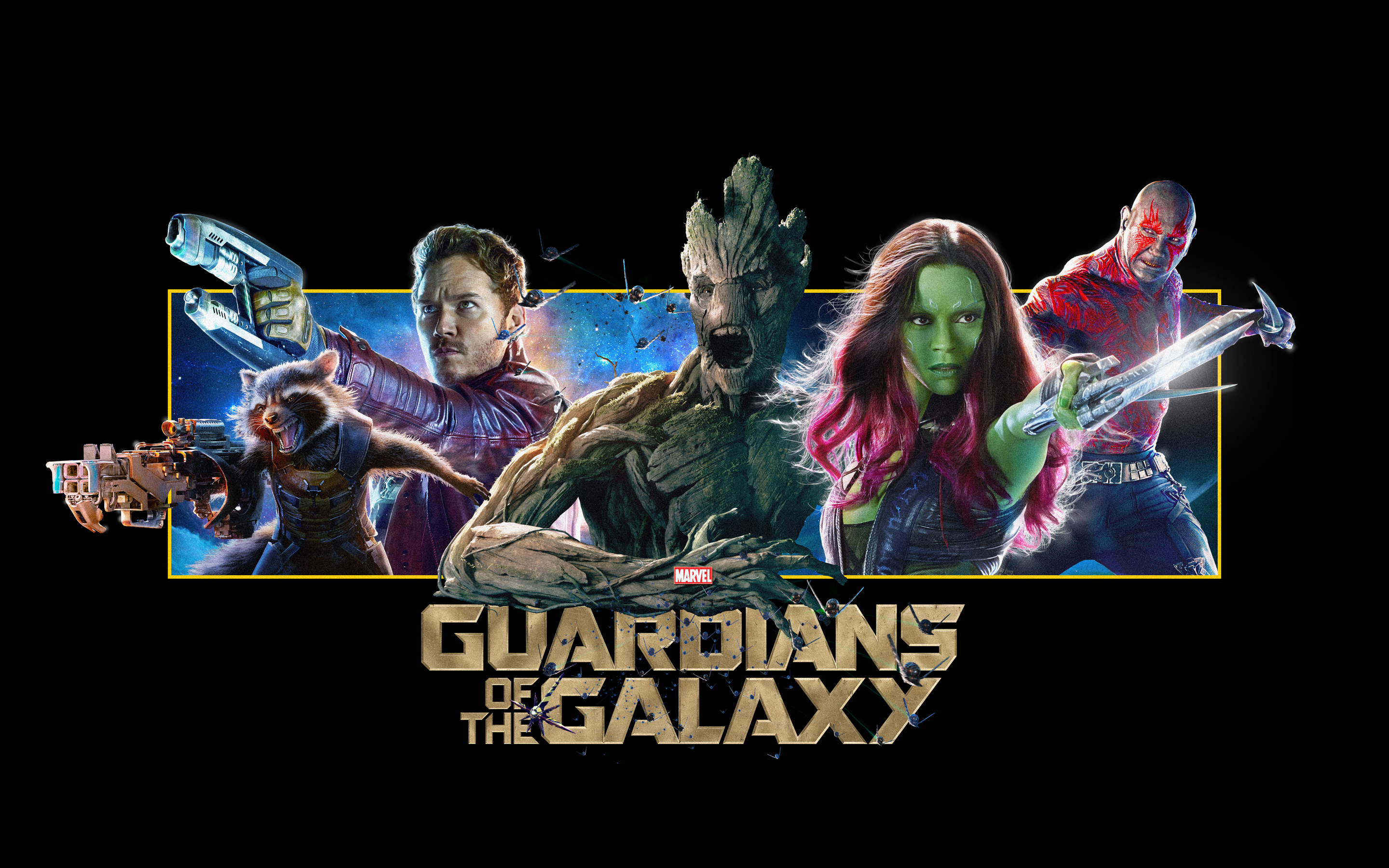HD Wallpapers Guardians of the Galaxy Banner